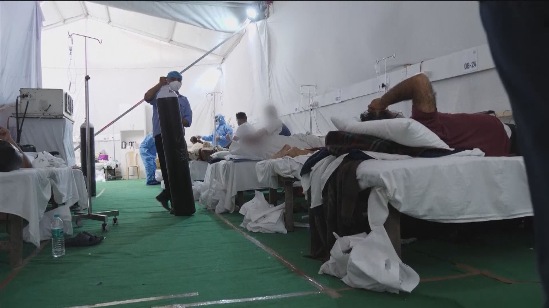 印度增逾32萬宗確診 美國商會憂慮疫情拖累全球經濟