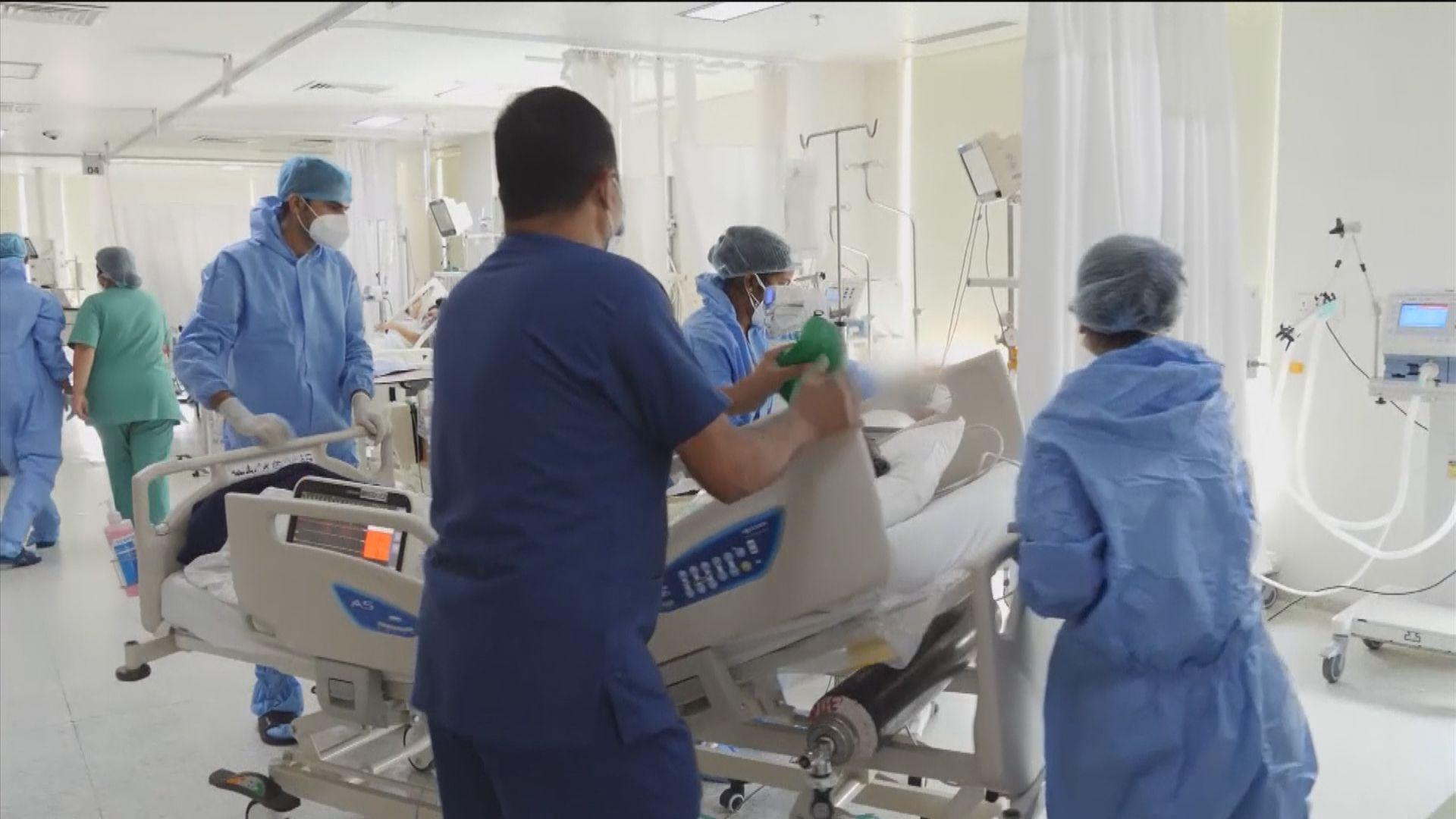 印度增逾36萬宗確診再破紀錄 累計逾廿萬人染疫死亡
