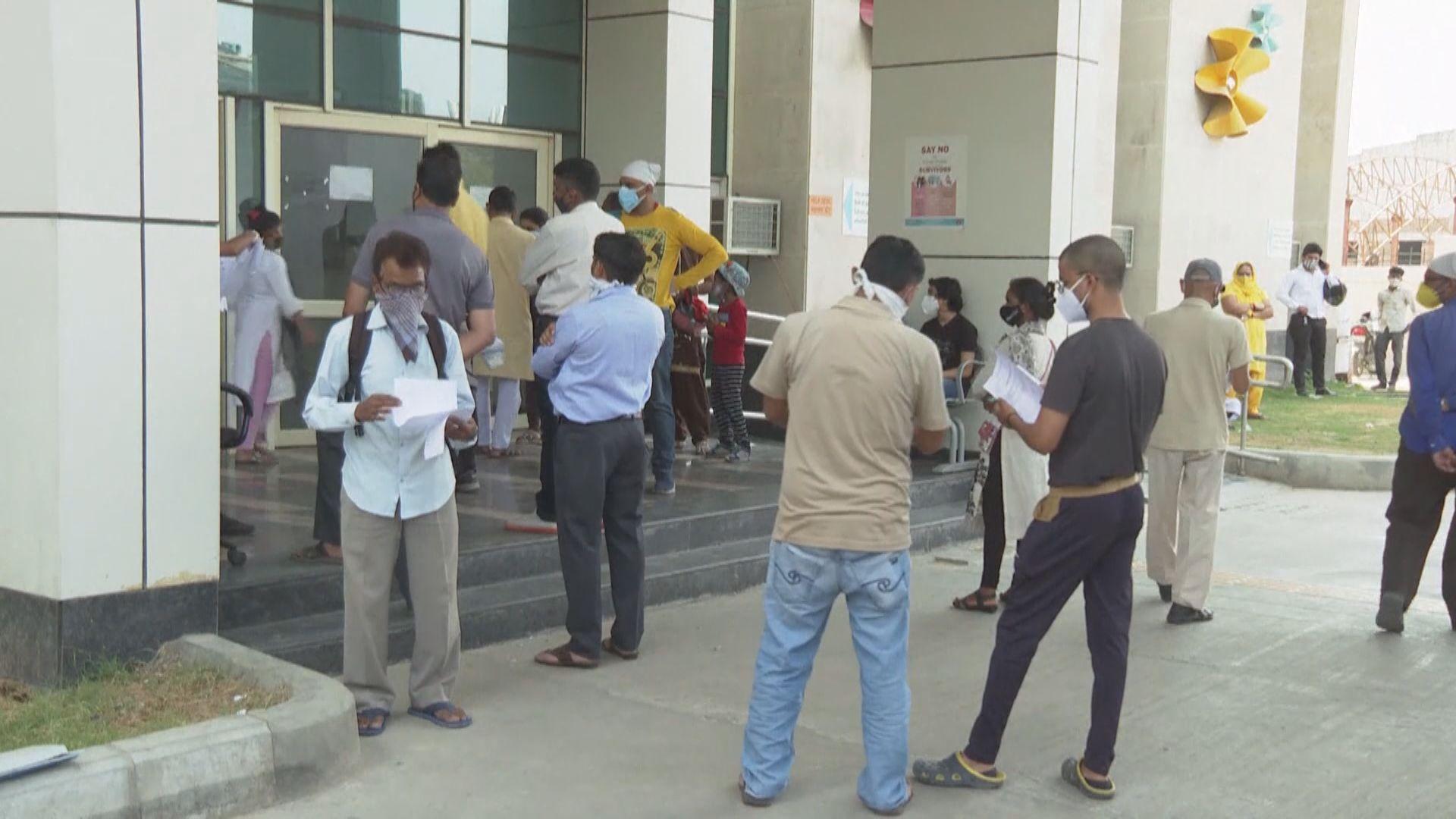 印度確診突破二千萬 當局指部分地區確診數字微跌