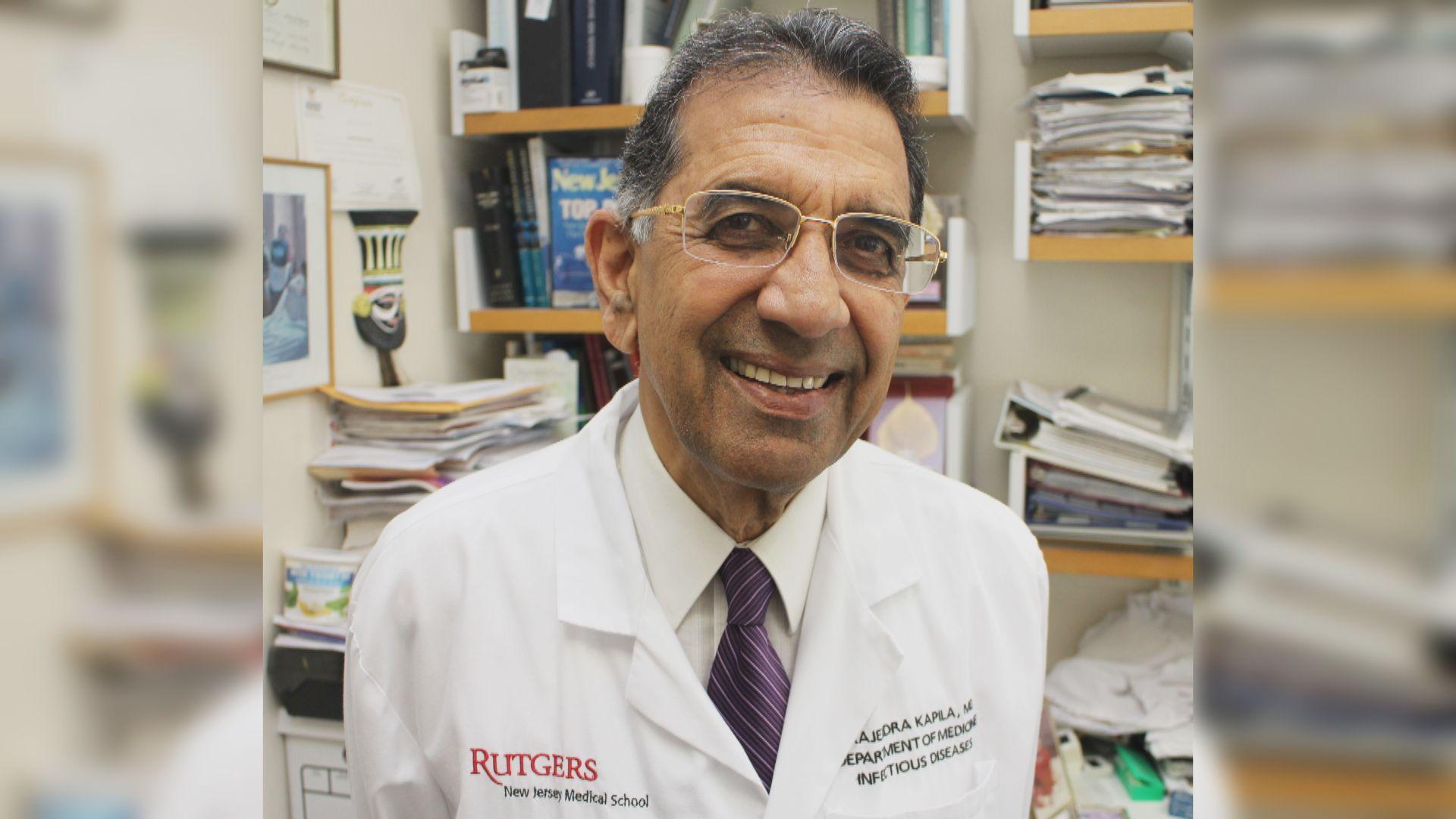 一名美籍印度裔傳染病學專家在印度確診死亡
