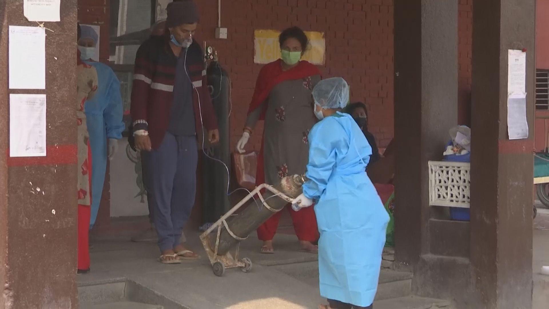 尼泊爾疫情大爆發 醫療物資嚴重短缺