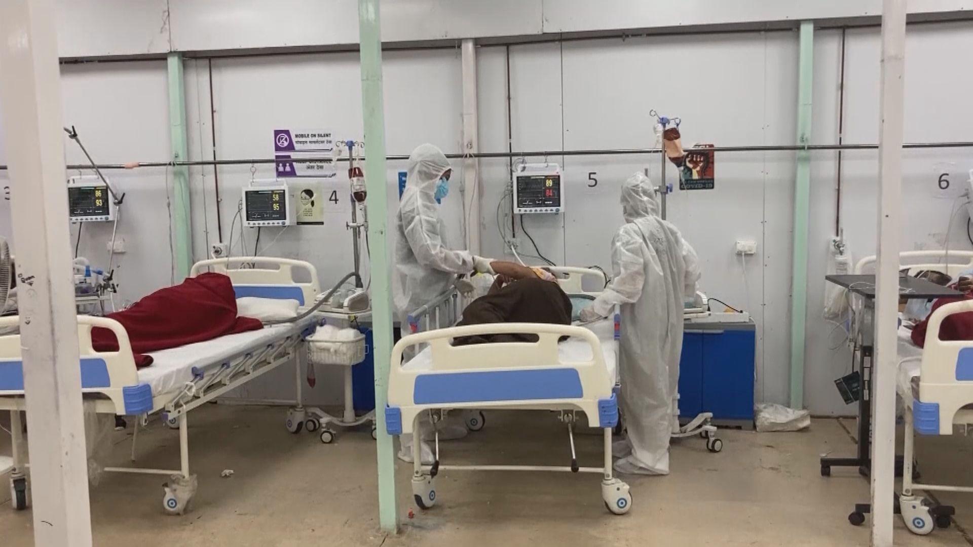 印度增26萬宗確診 專家料當地疫情七月緩和