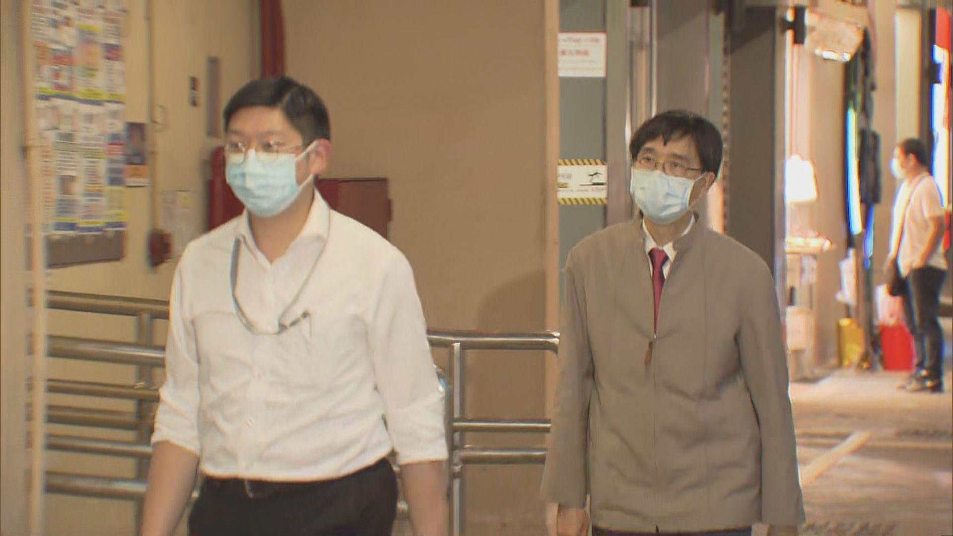袁國勇:四歲男童求醫診所全部環境樣本對新冠病毒呈陰性