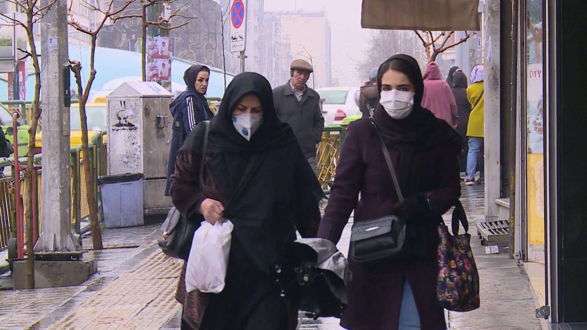 伊朗再多三人確診 當局調查是否與別國朝聖者有關