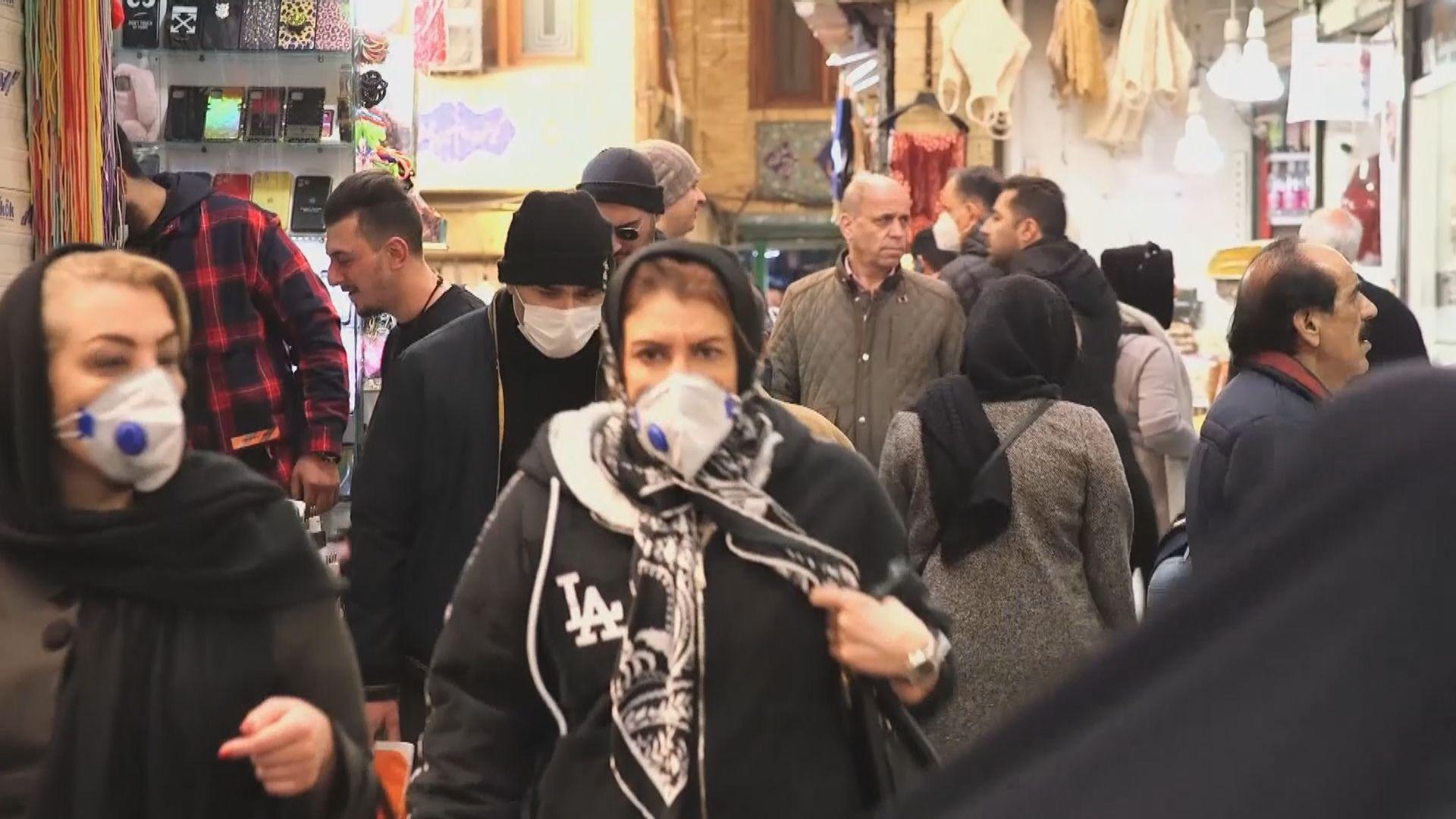 伊朗確診病例增至43宗 8人死亡