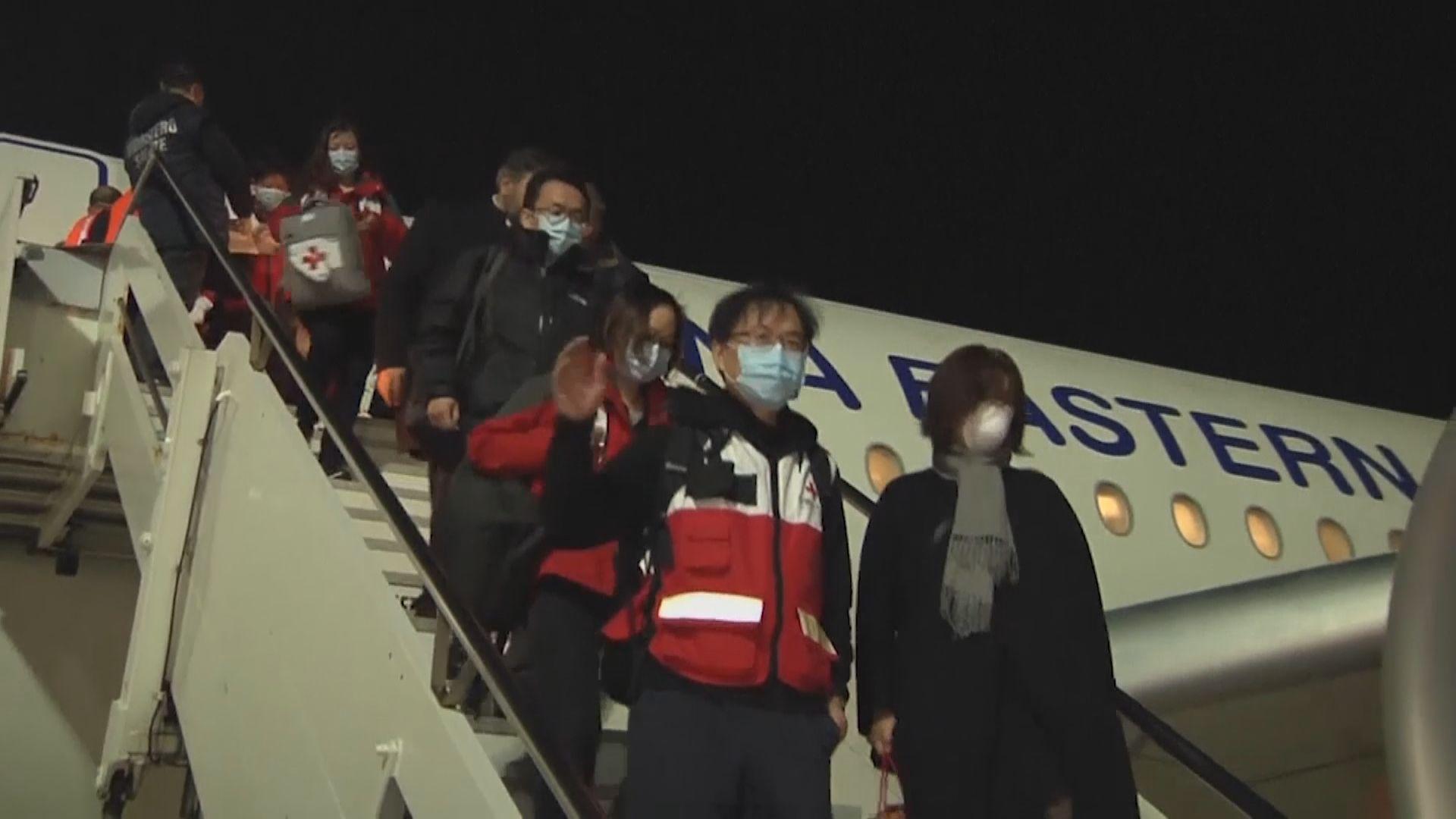 中國派九人醫療隊前往意大利協助抗疫