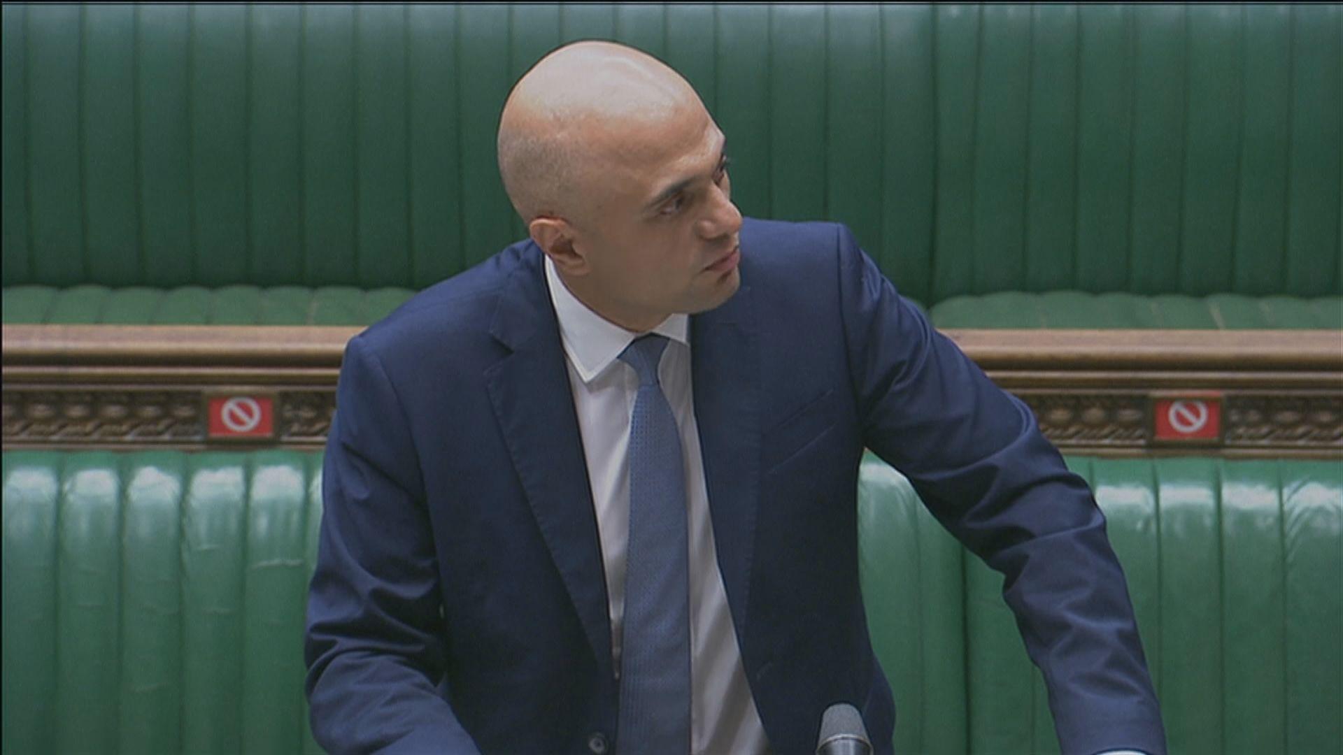 英國新任衞生大臣相信英格蘭地區下月19日可如期解封