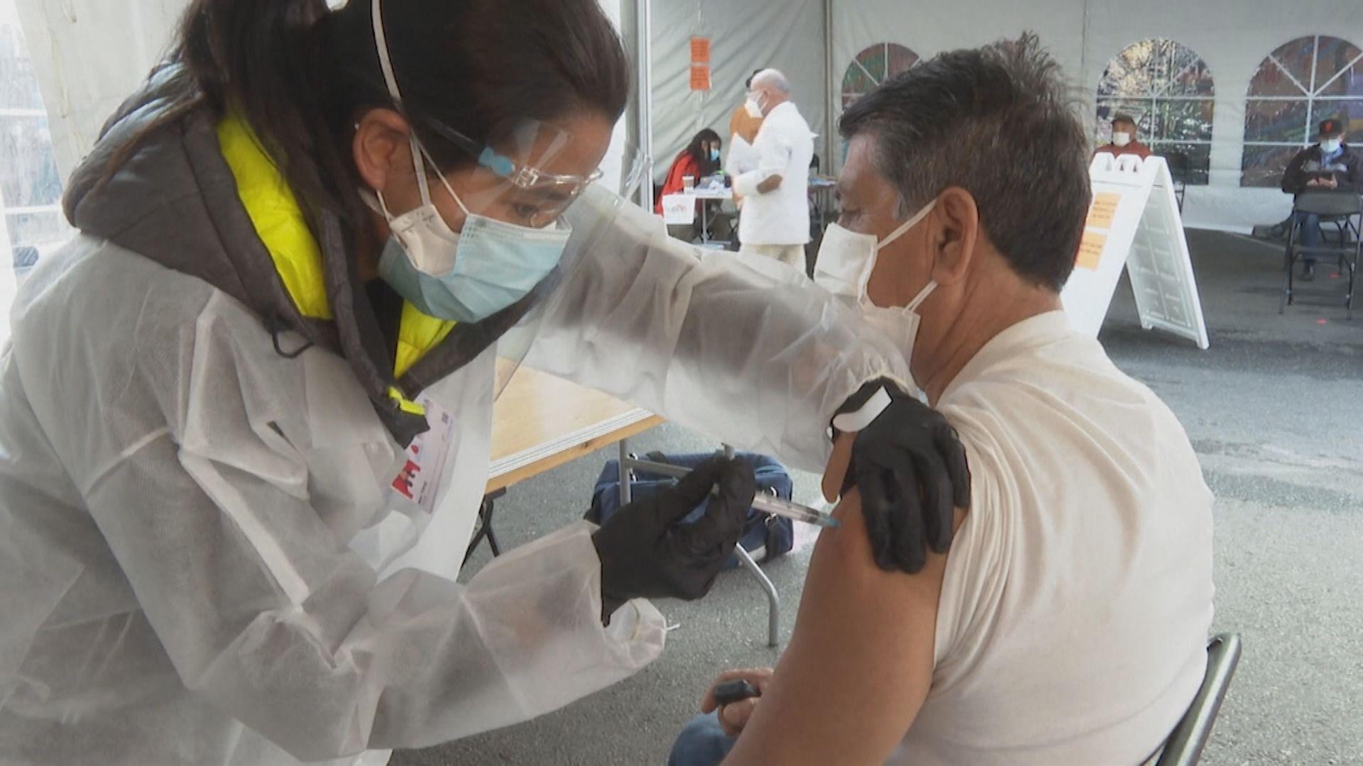 報告指強生新冠疫苗有效率為66%