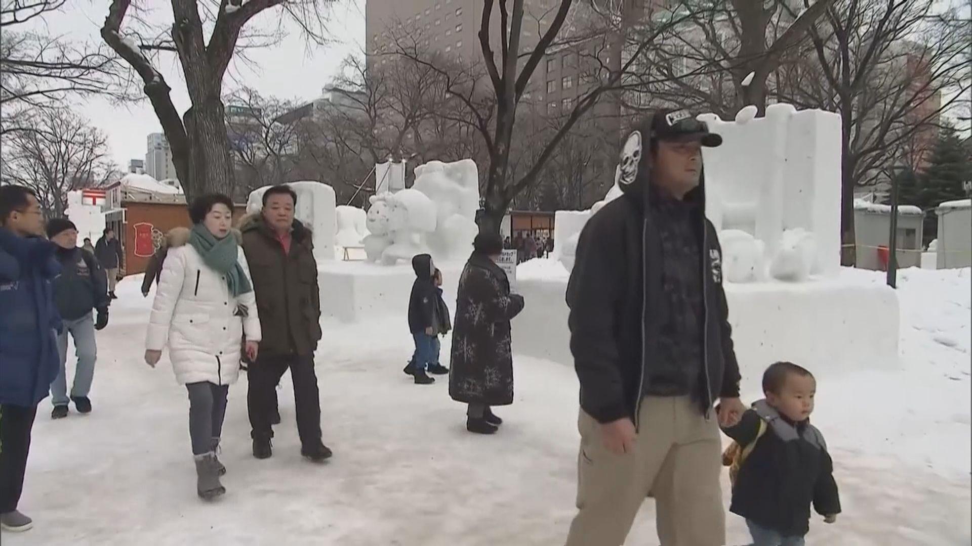 日本北海道單日增八人確診