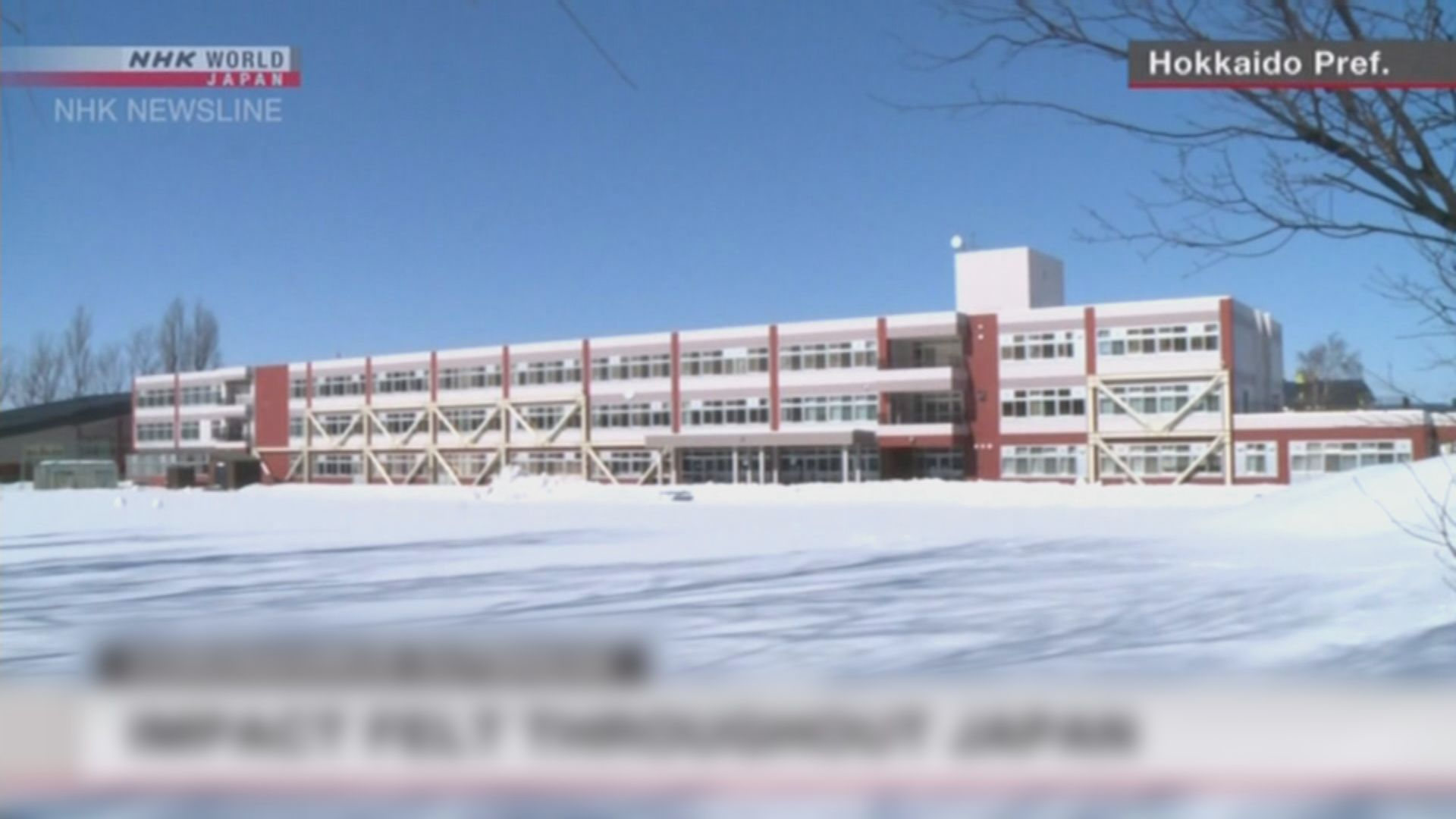 安倍晉三宣布全國中小學下周一起停課