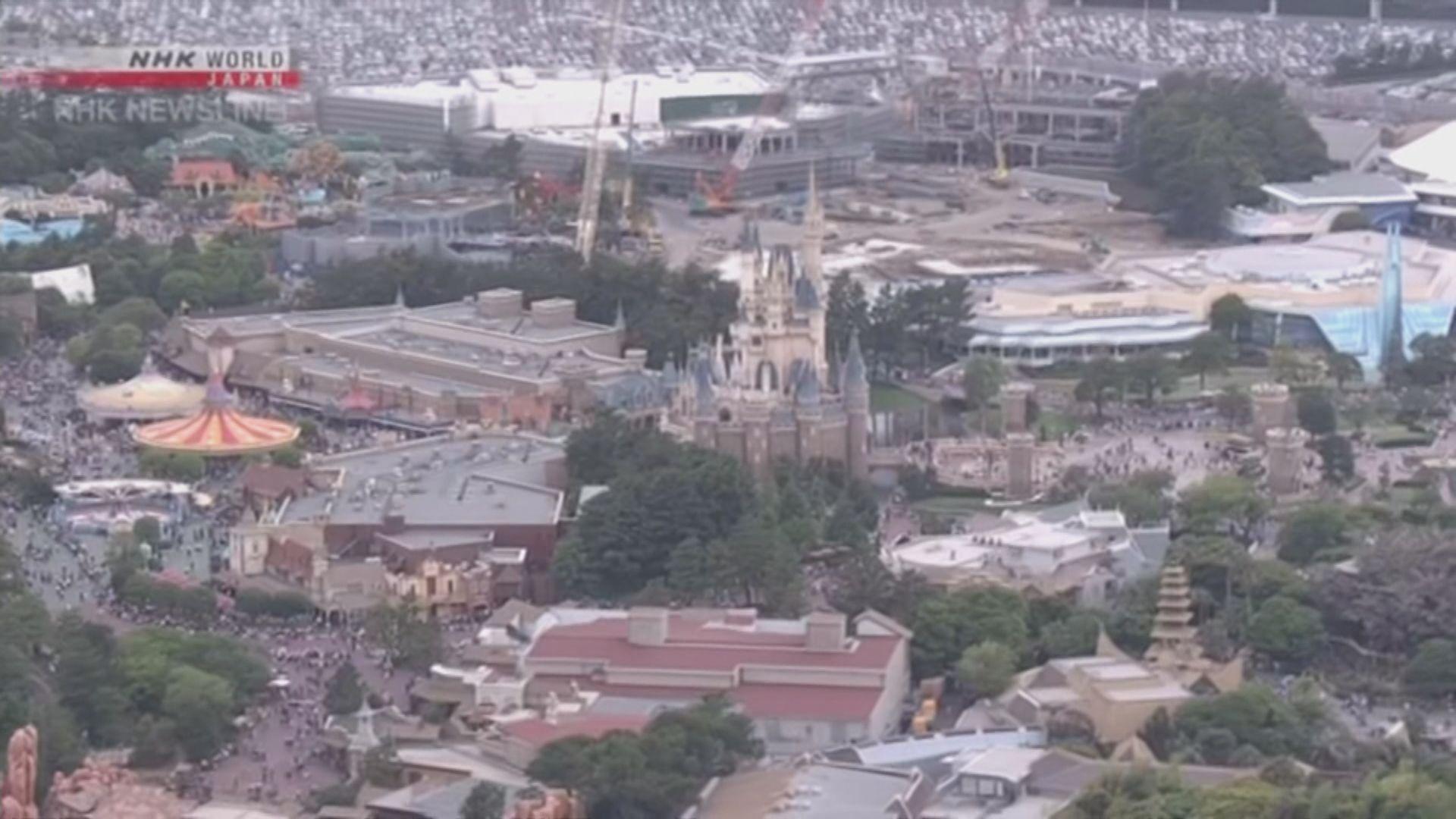 東京迪士尼明起關閉至3月15日