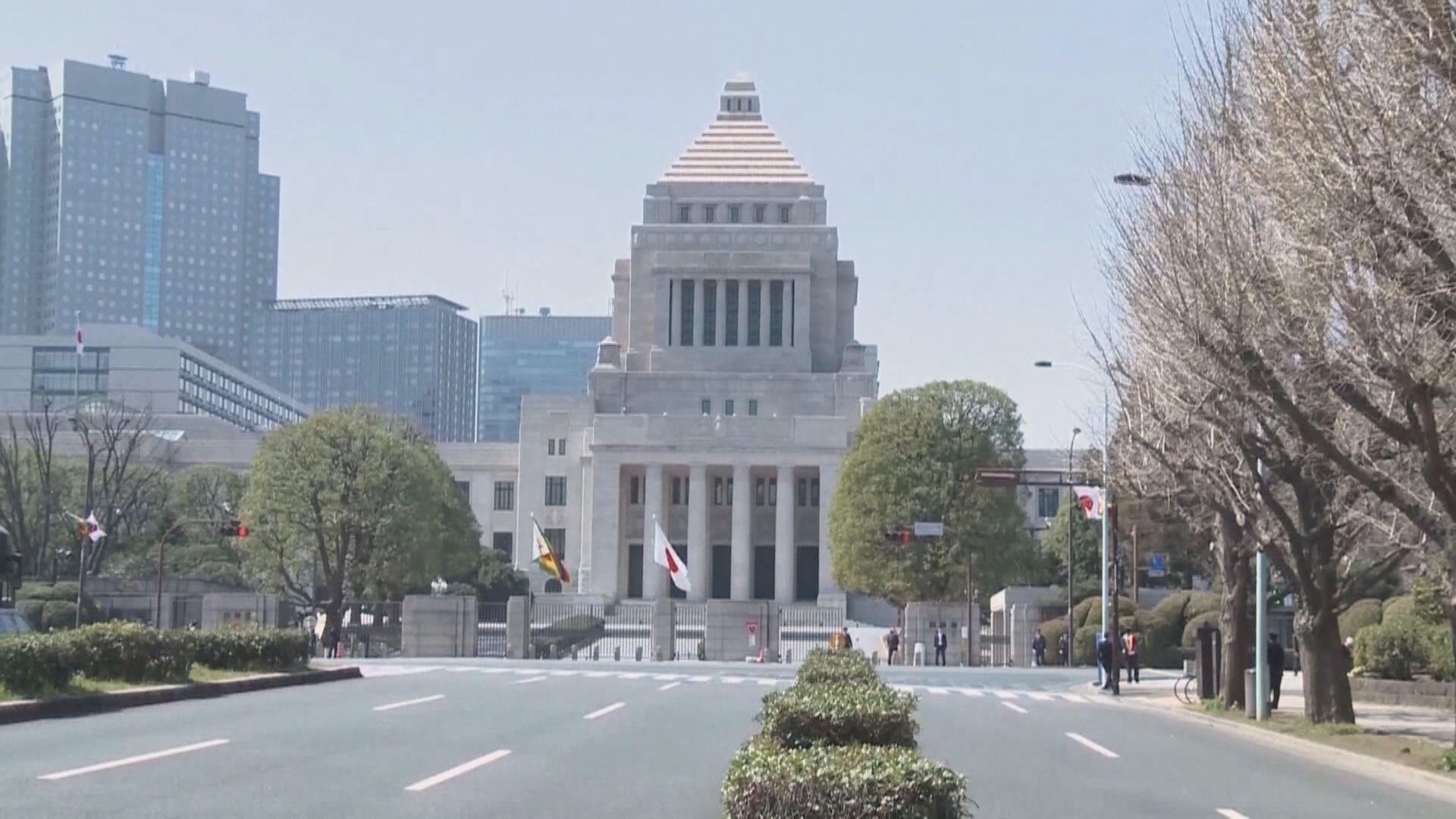 日本內閣同意首相可因應疫情宣布進入緊急狀態