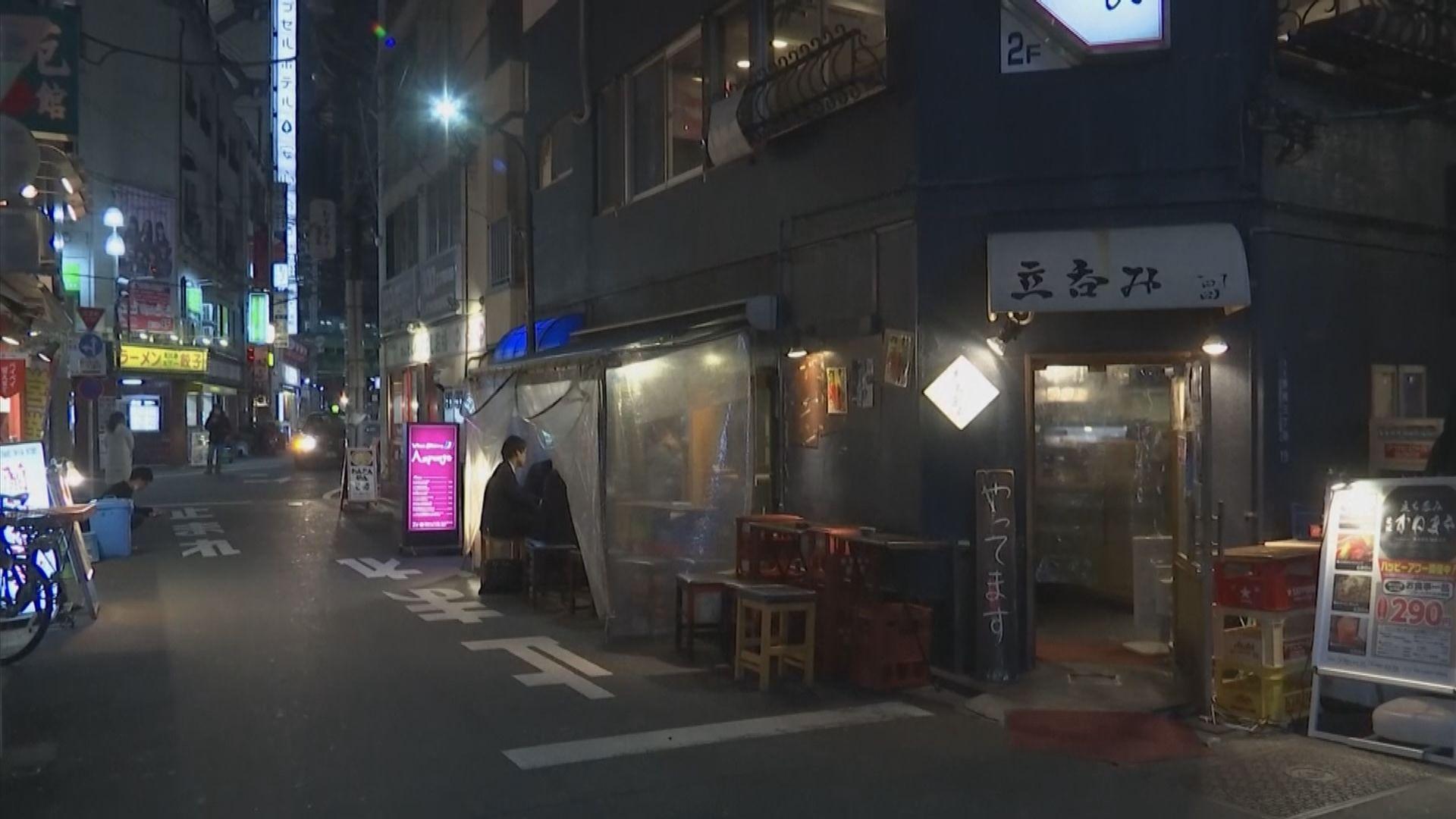 東京都娛樂場所、大學等關閉 食肆營業至晚上八時