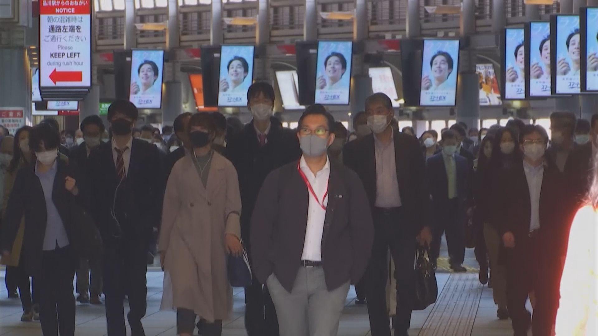 東京都大阪府等地區需繼續維持嚴格措施控疫