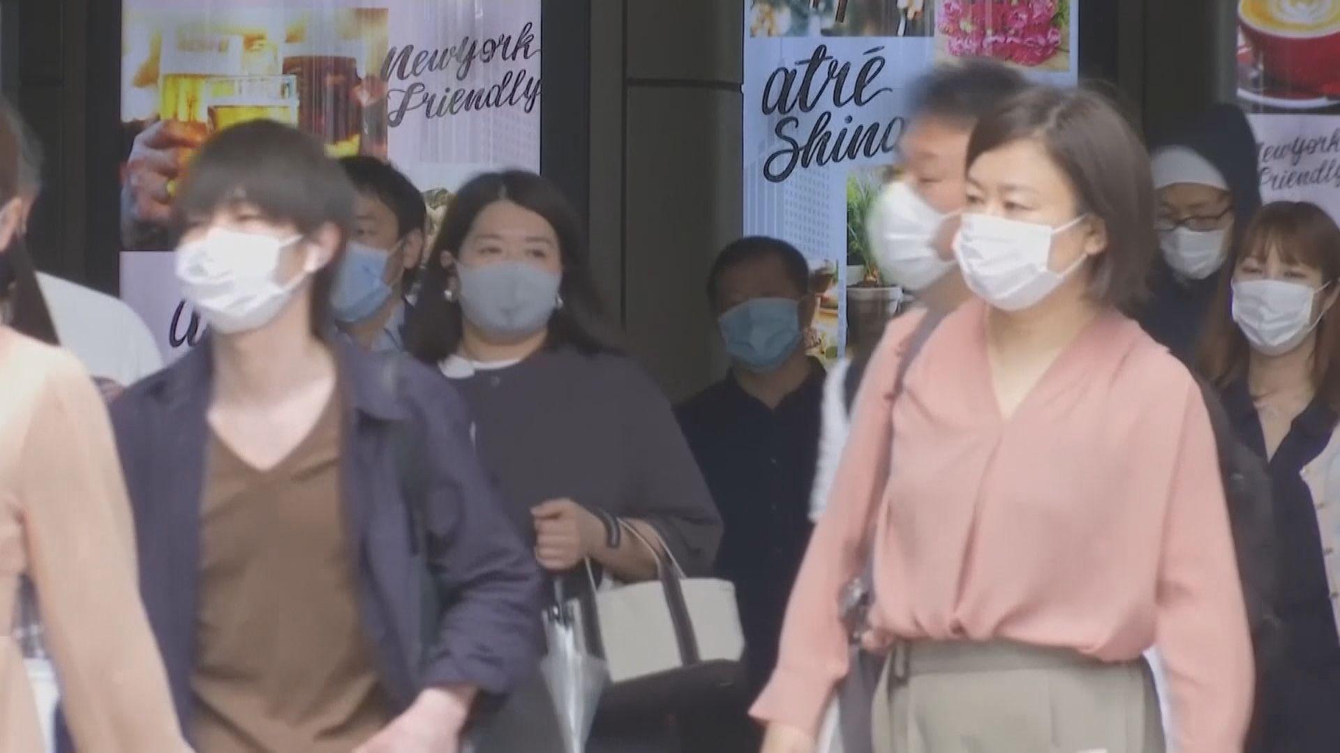 東京都解封後首日 多處人流增加