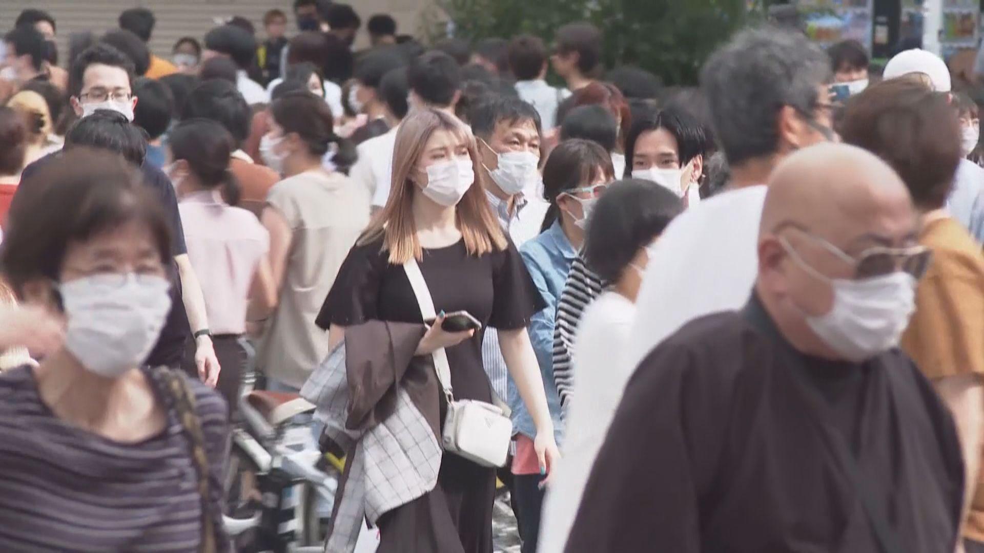 日本暫不考慮發布緊急事態宣言