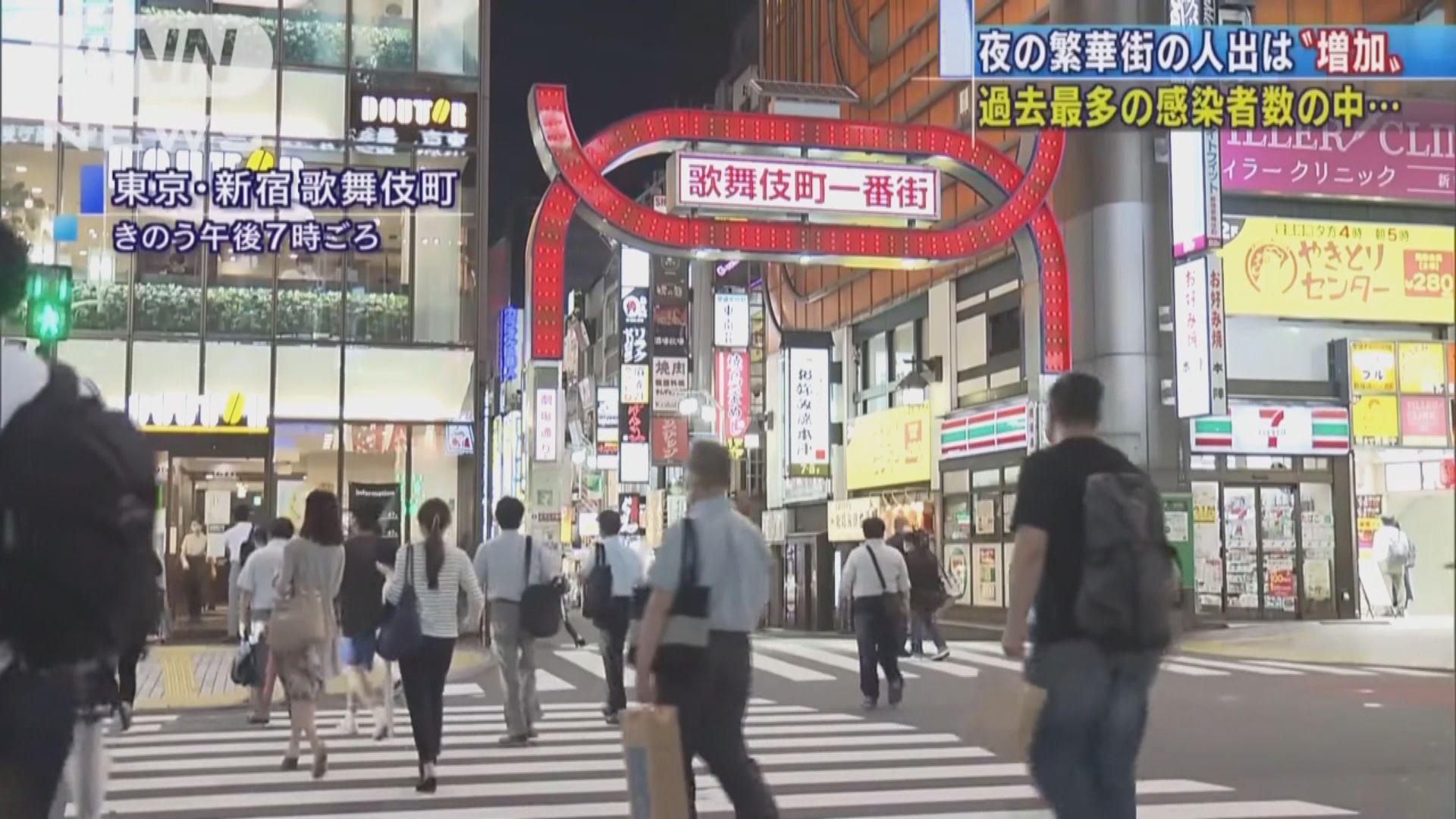 東京都增206宗確診 醫生組織建議政府勒令夜店停業兩周
