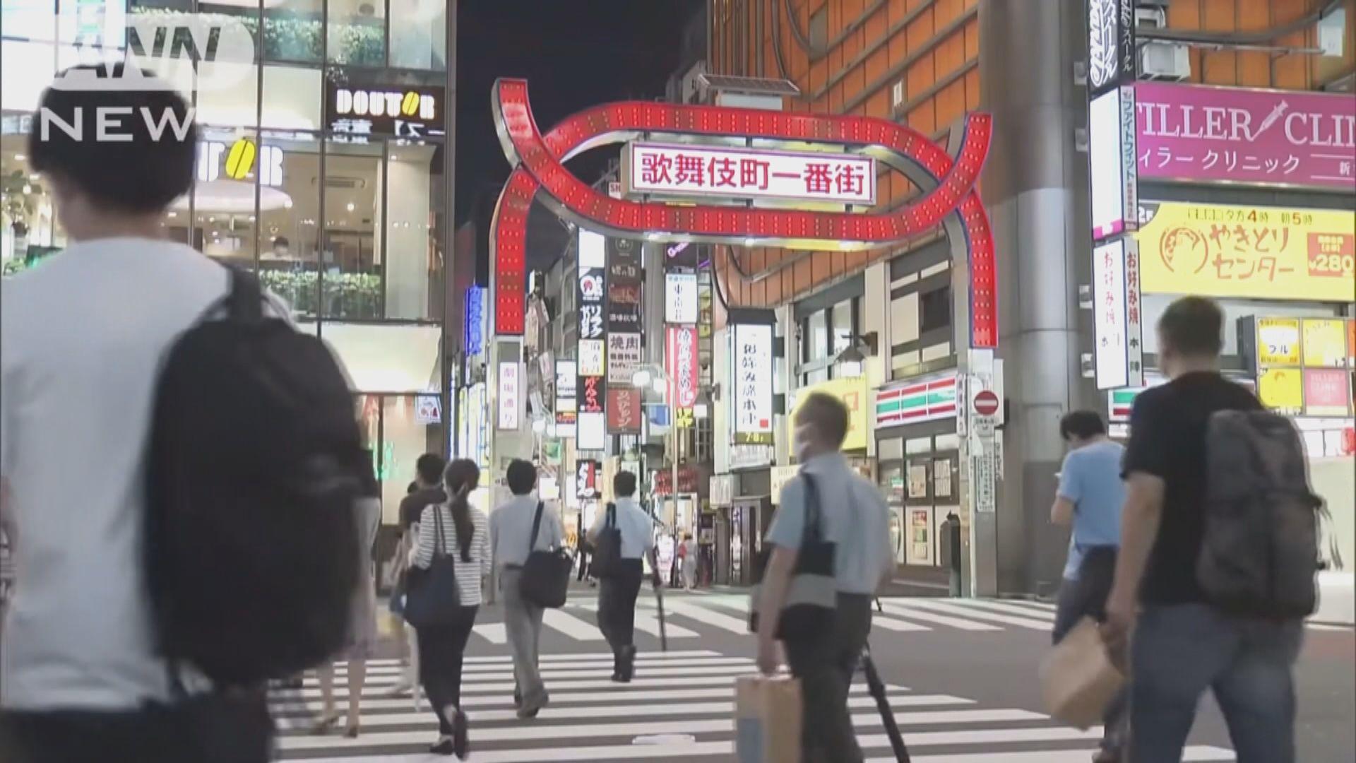 東京都增143宗病例 政府或要求未遵指引夜店關閉