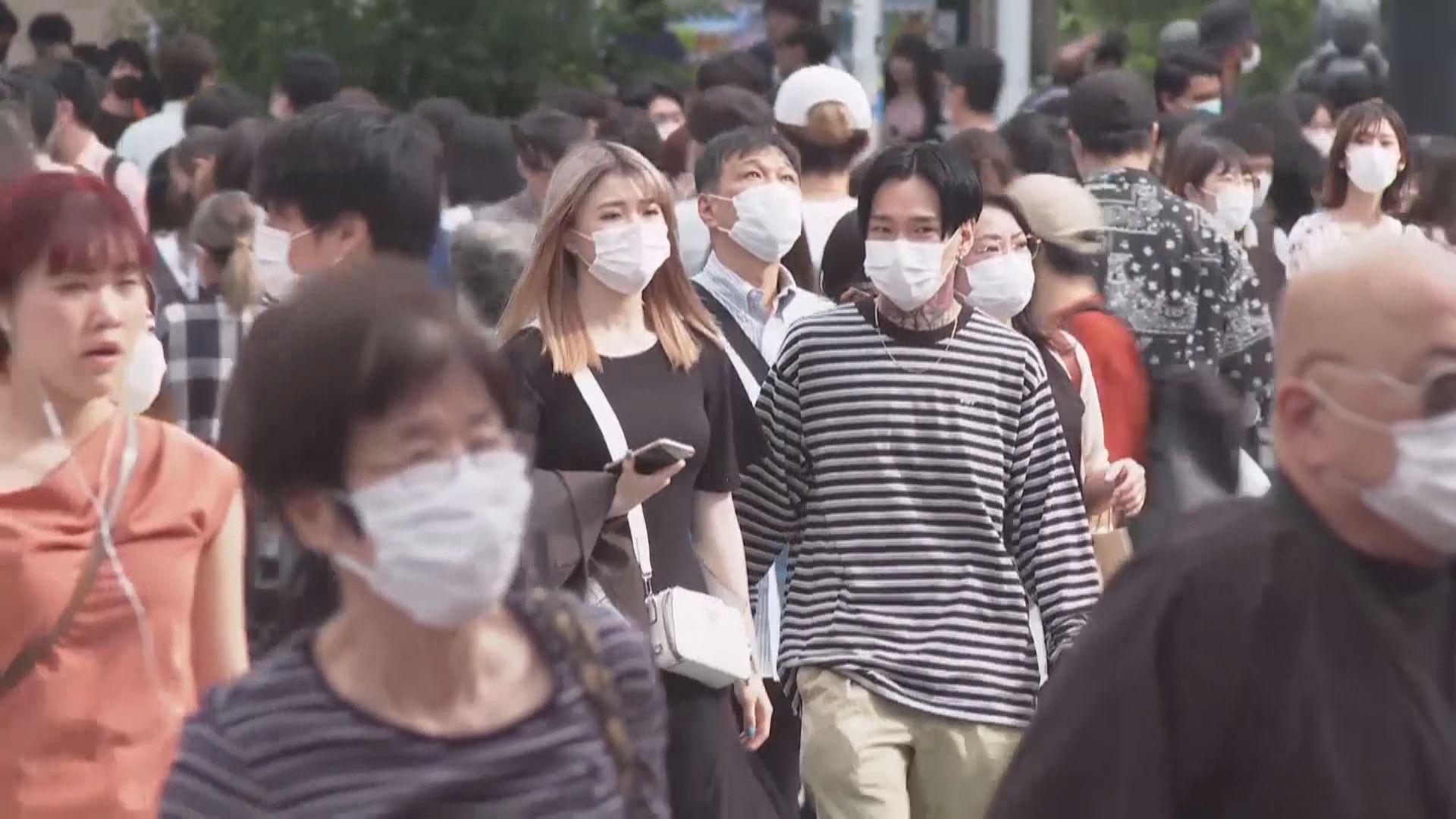 東京都單日新增新冠確診個案破紀錄