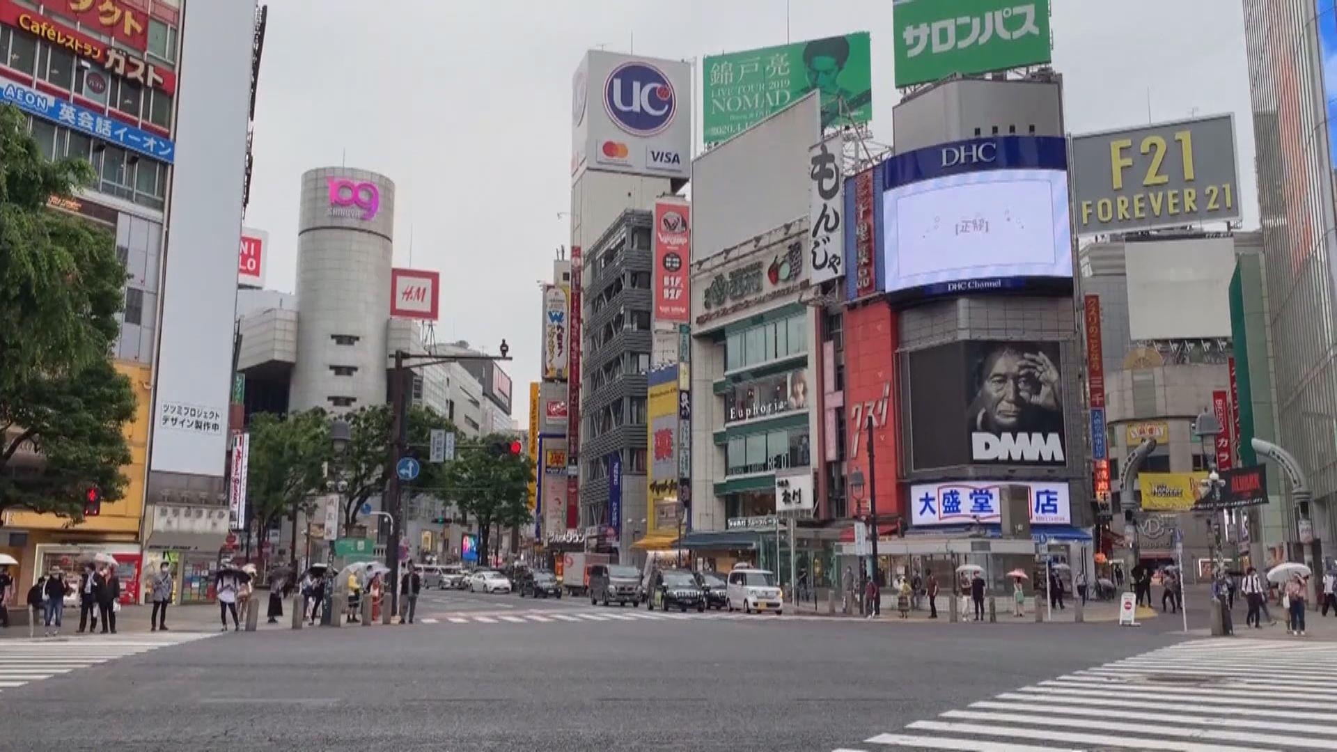 東京都單日新增290宗確診個案