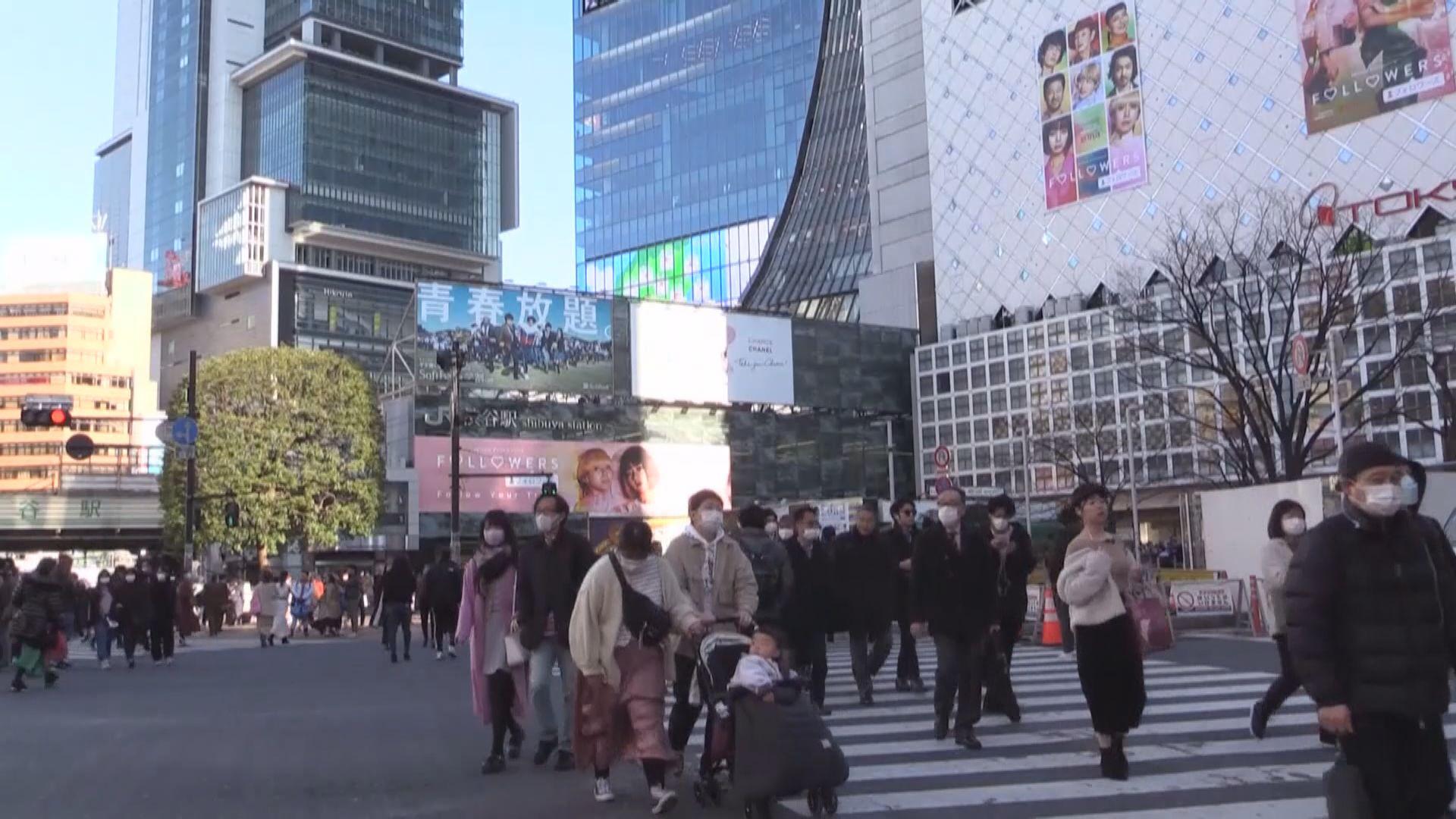 東京都新增確診病毒首度突破三百大關
