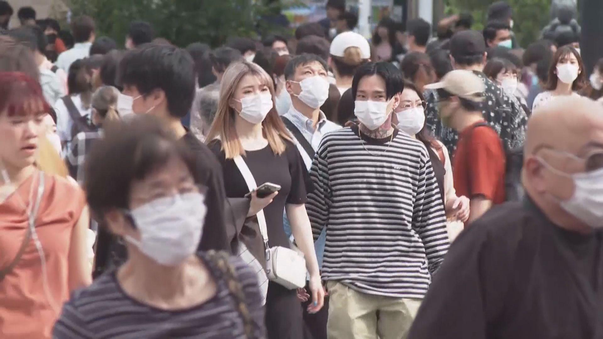 日本單日增980宗確診 東京都知籲民眾假期避免出外