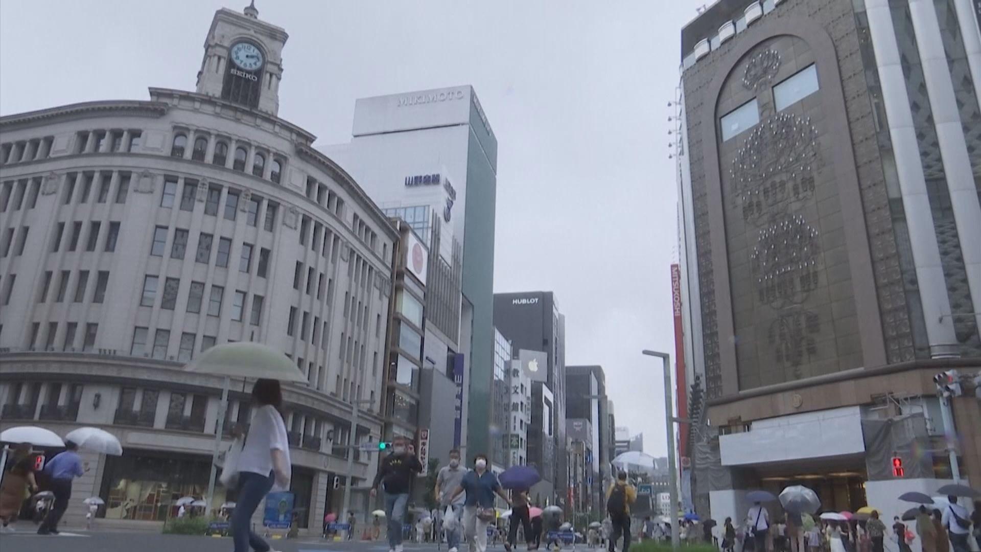 東京都連續六天增逾200宗確診個案
