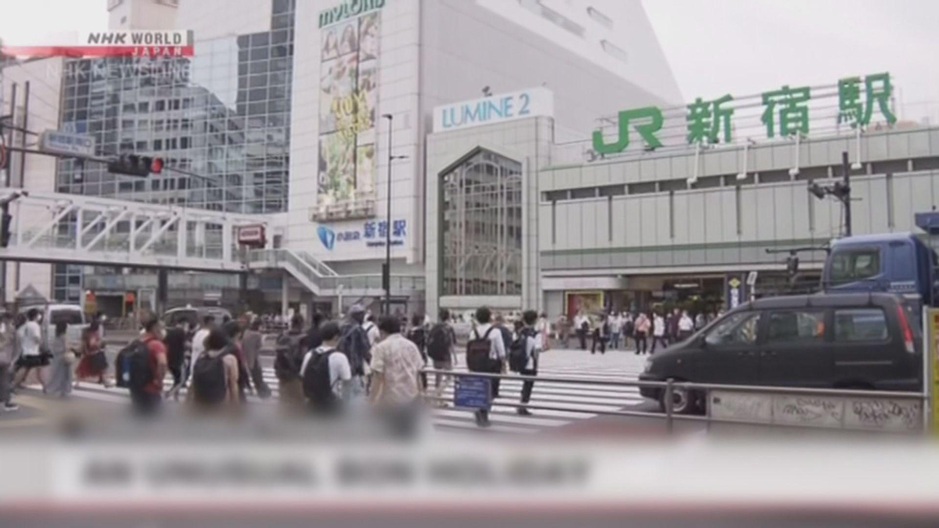 東京新增確診連續兩日逾400宗