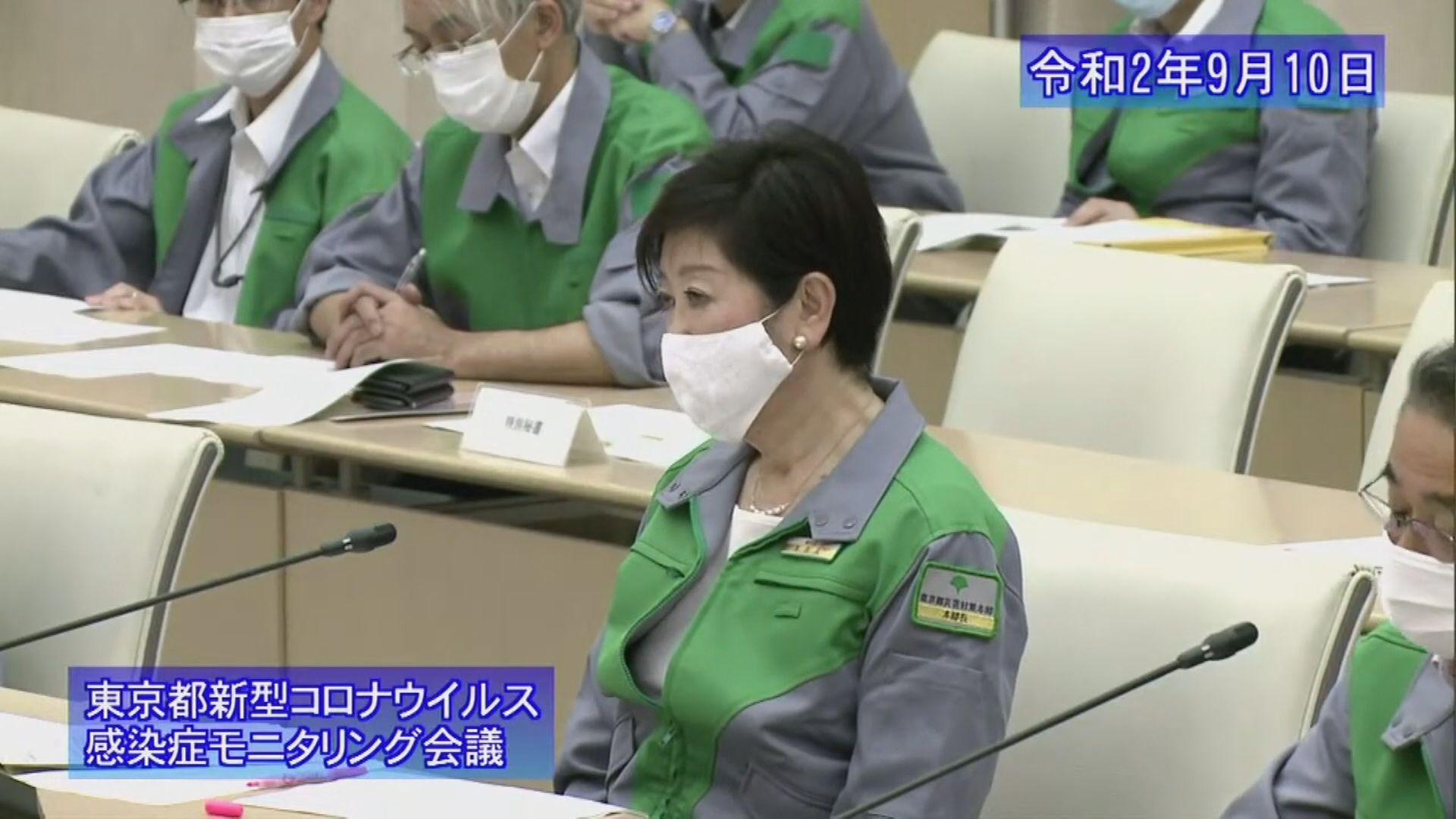 東京都下調新冠疫情警戒級別