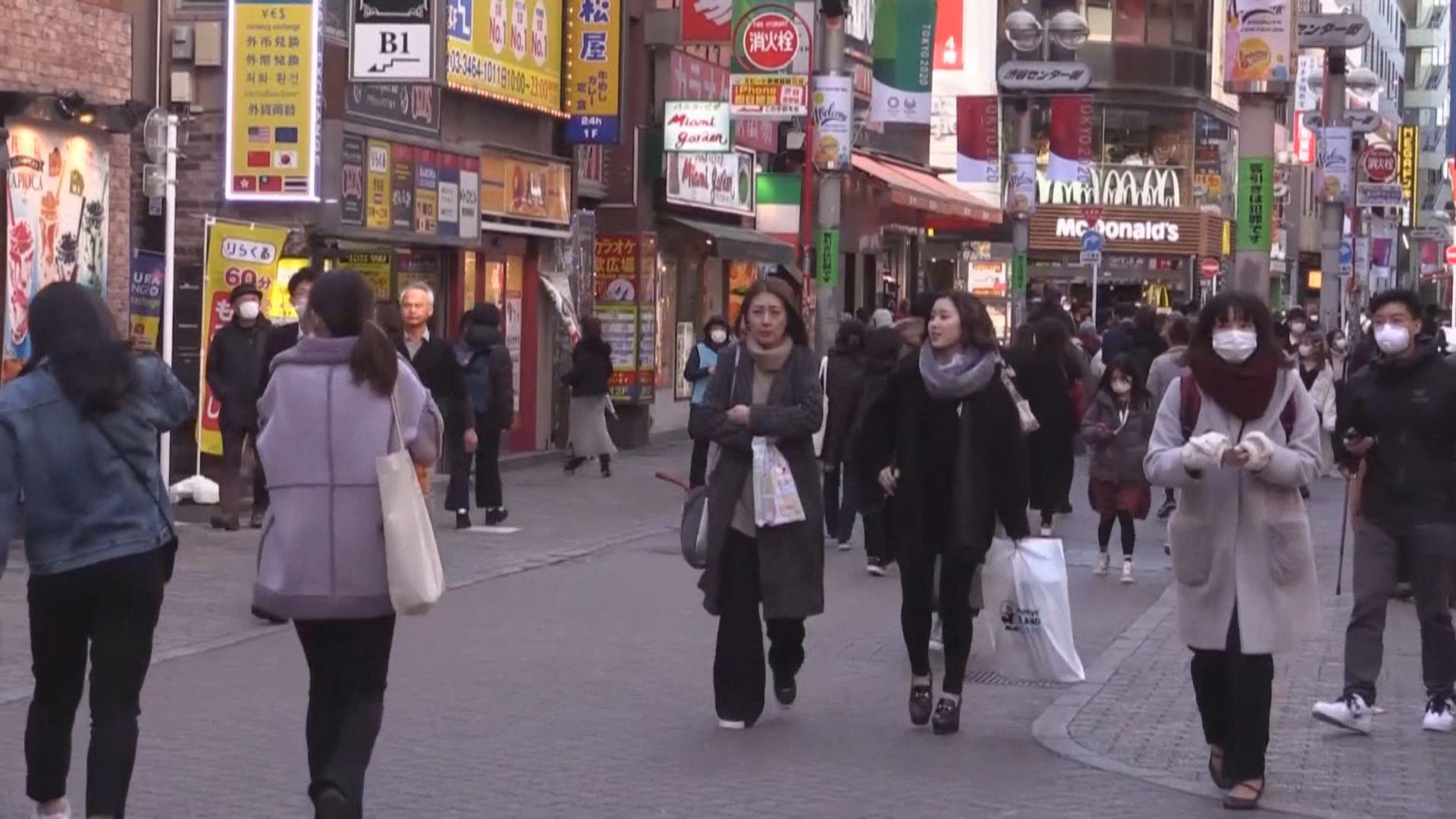 日本東京都確診病例創單日新高 東京等地病床供應緊張