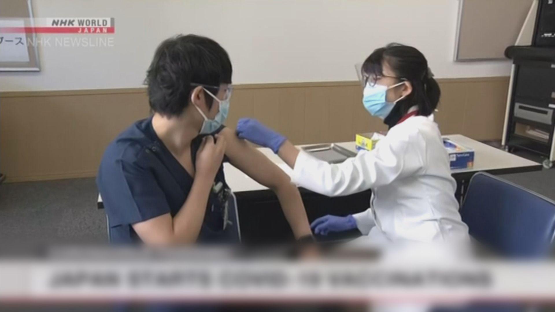 日本為醫護接種新冠疫苗 專家料奧運前無法達致群體免疫