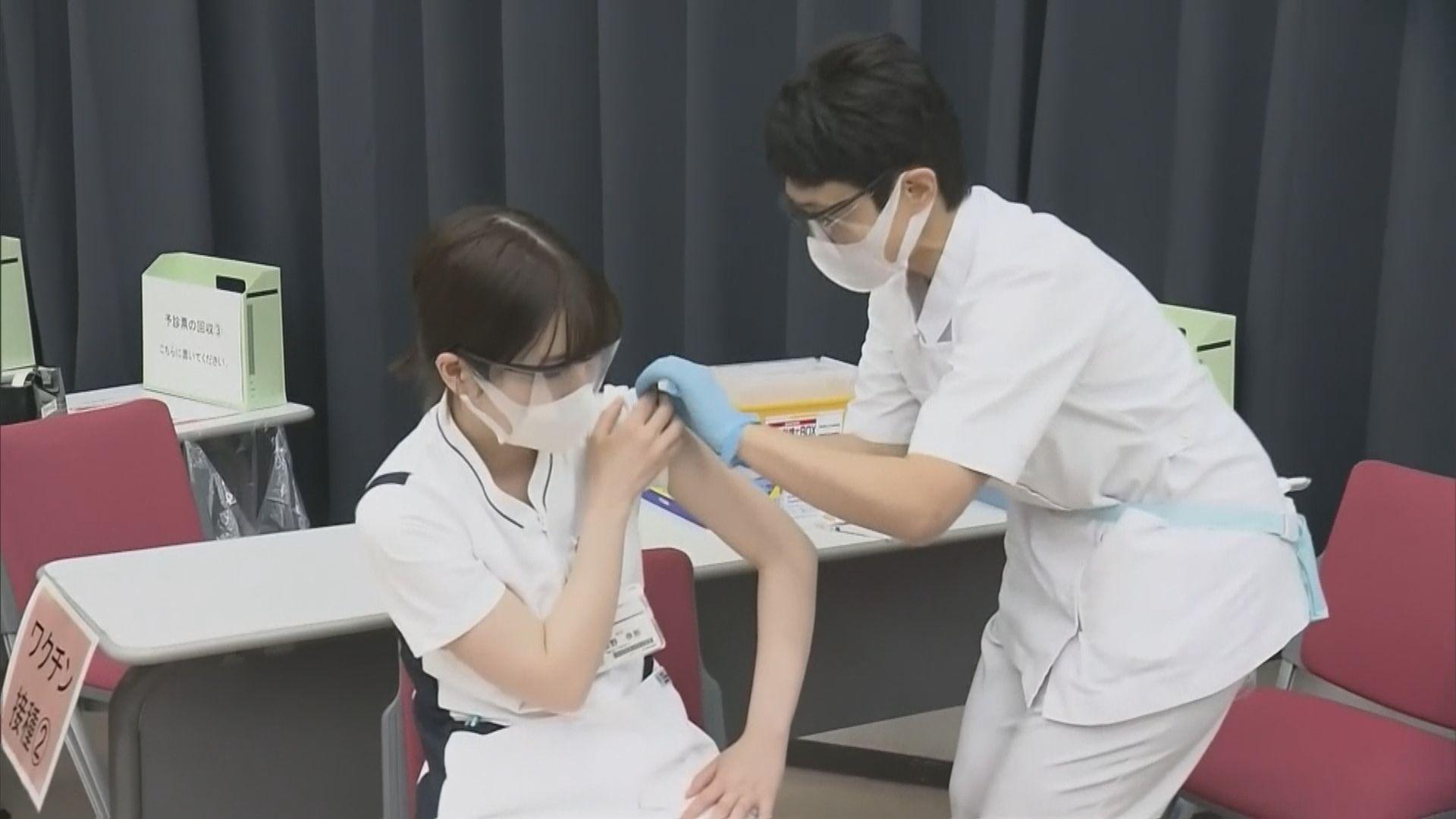 日本一名醫護接種輝瑞疫苗後急性過敏