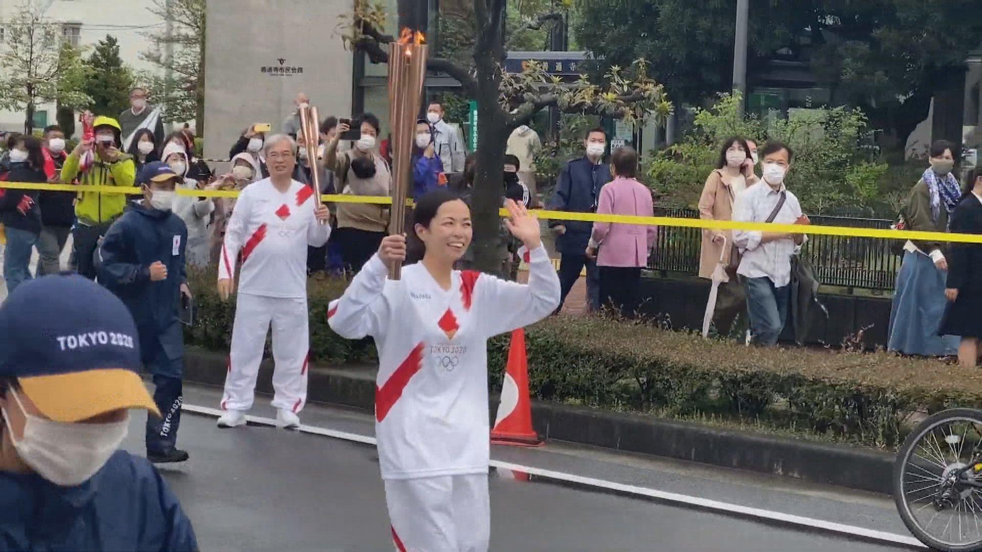 日本東奧聖火傳遞出現首宗相關新冠確診