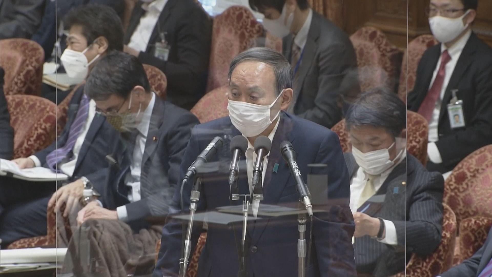 菅義偉:從未將奧運放第一位 首要任務是保護國民健康
