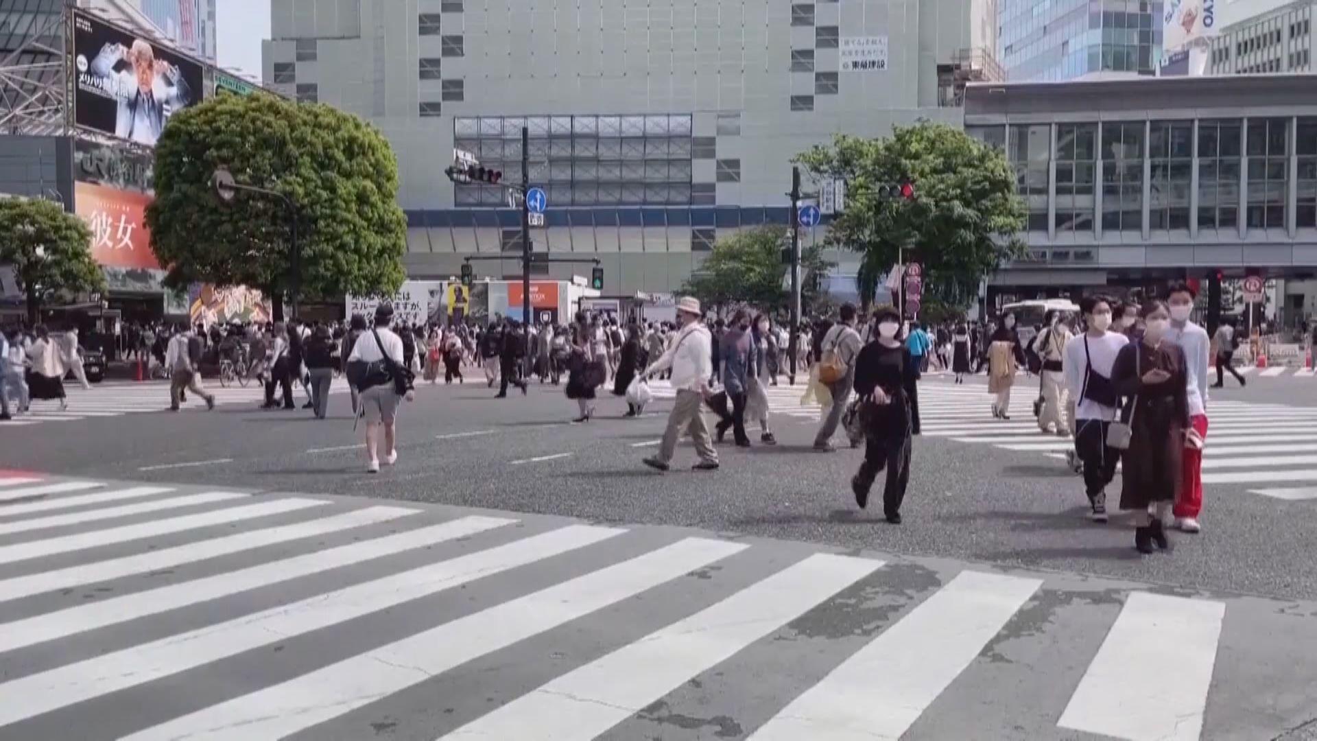 東京都連續三日增逾三千宗確診病例