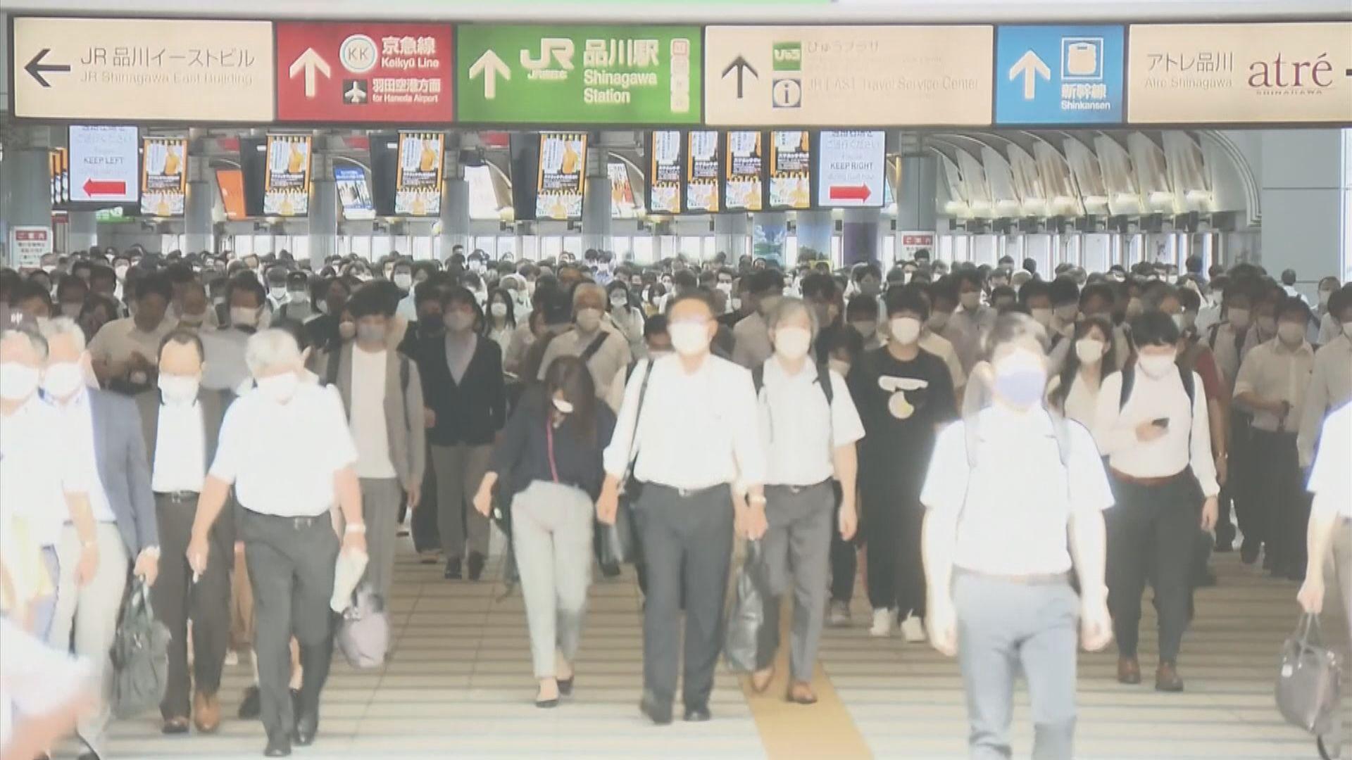 日本東京都新增逾四千宗確診再創新高