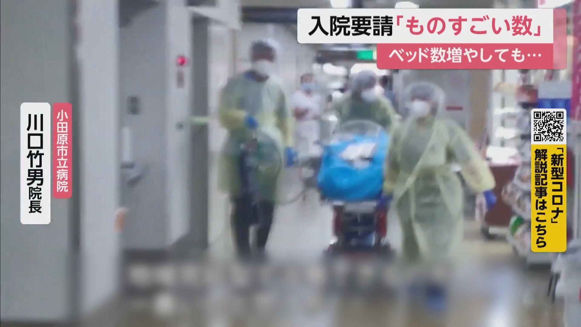 日本全國新增逾一萬宗新冠病毒確診個案