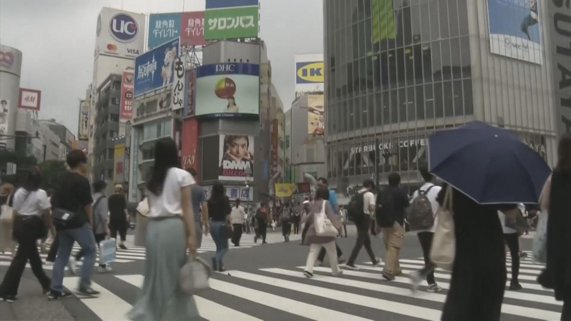 東京都連續兩天新增逾五千宗新冠病毒確診個案