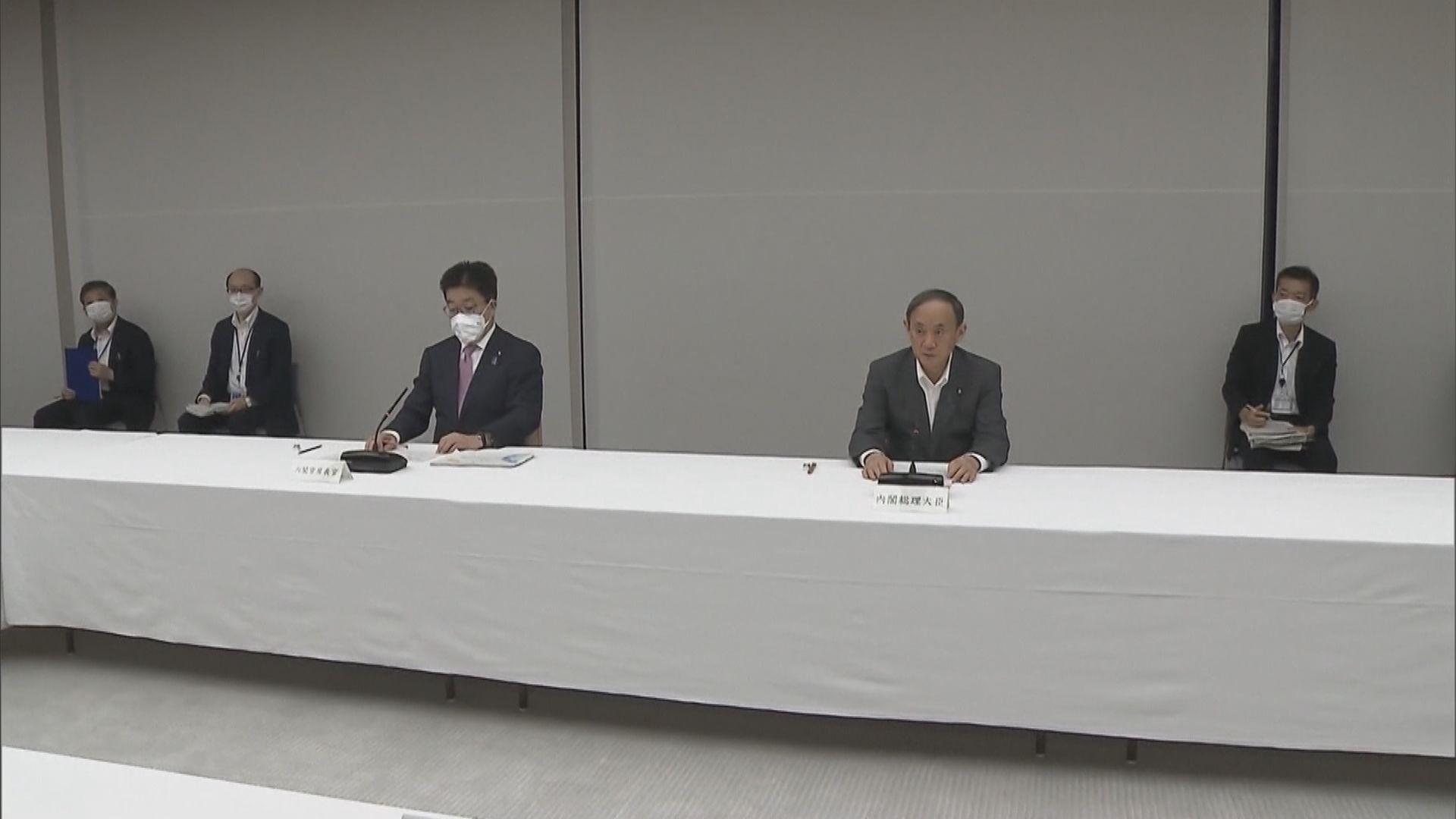 日揆決定向北海道等八個道縣發布緊急事態宣言