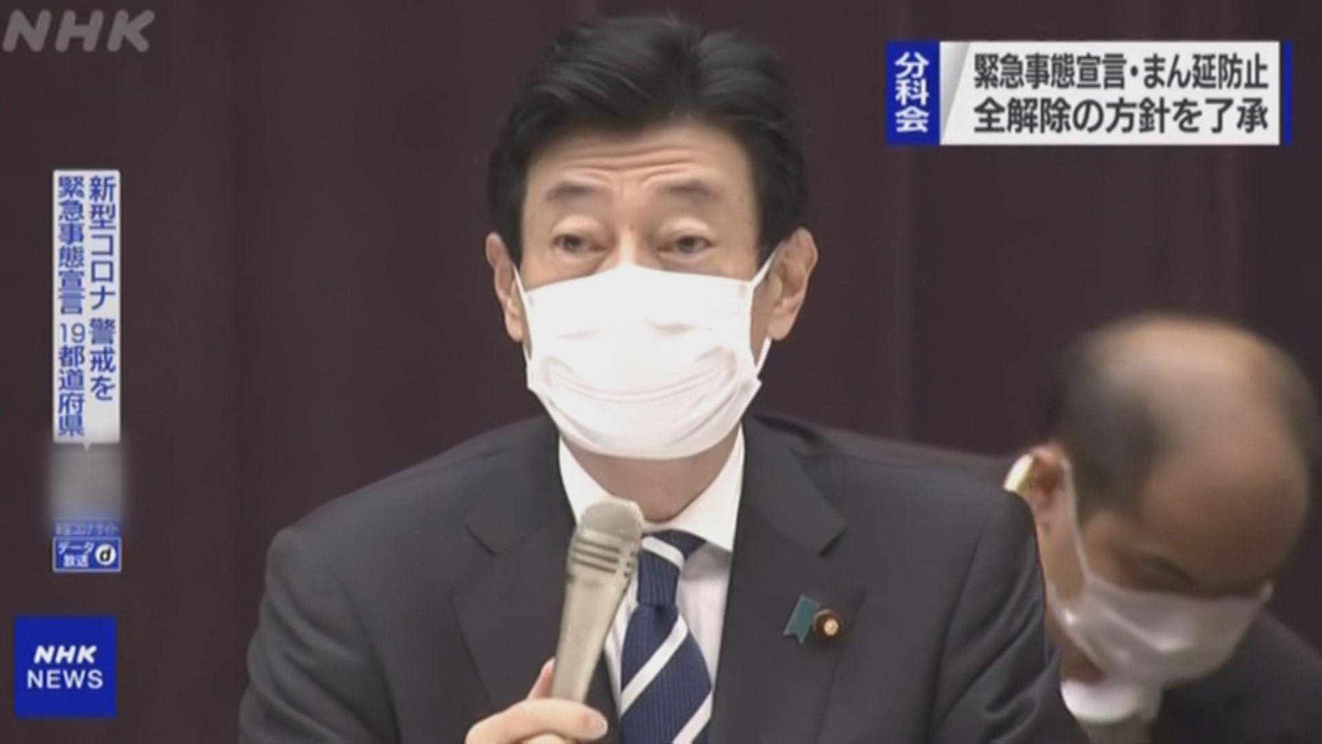 日本新冠緊急事態宣言周四到期後將解除