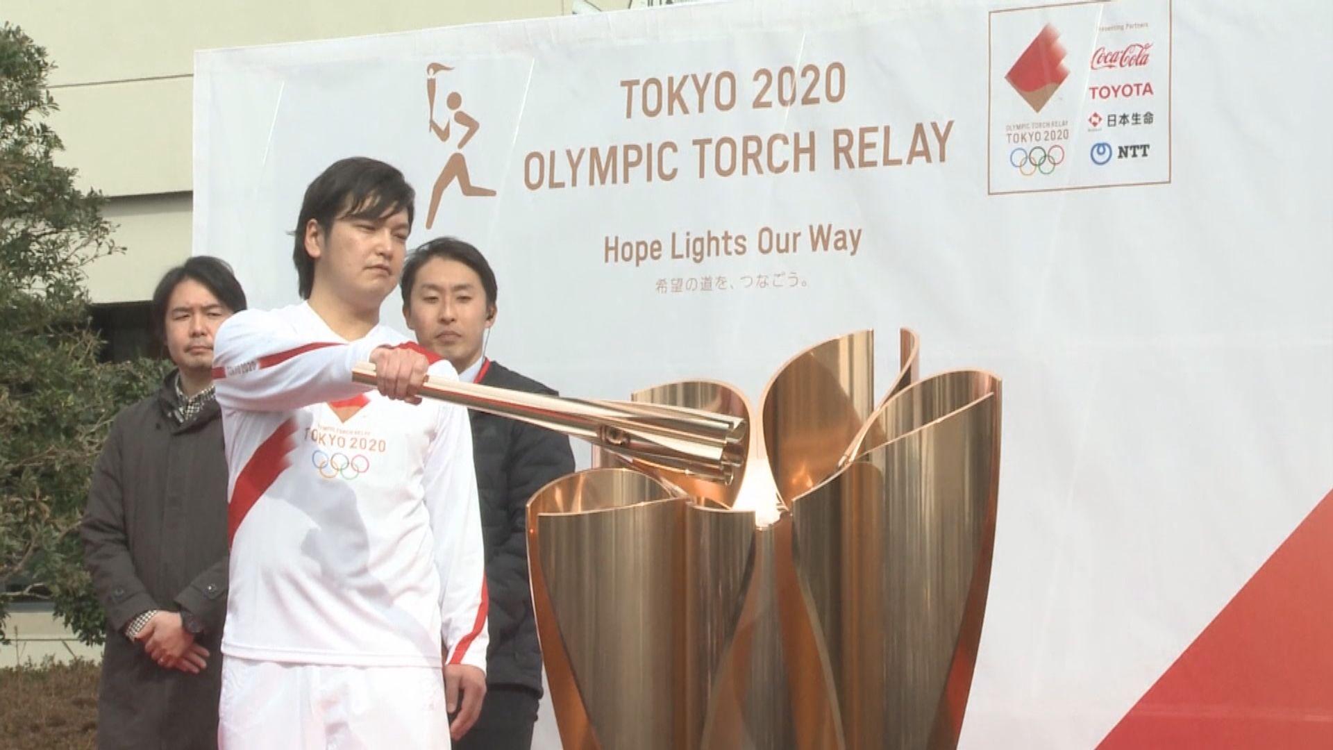 日本奧組委將因應疫情調整聖火傳遞安排