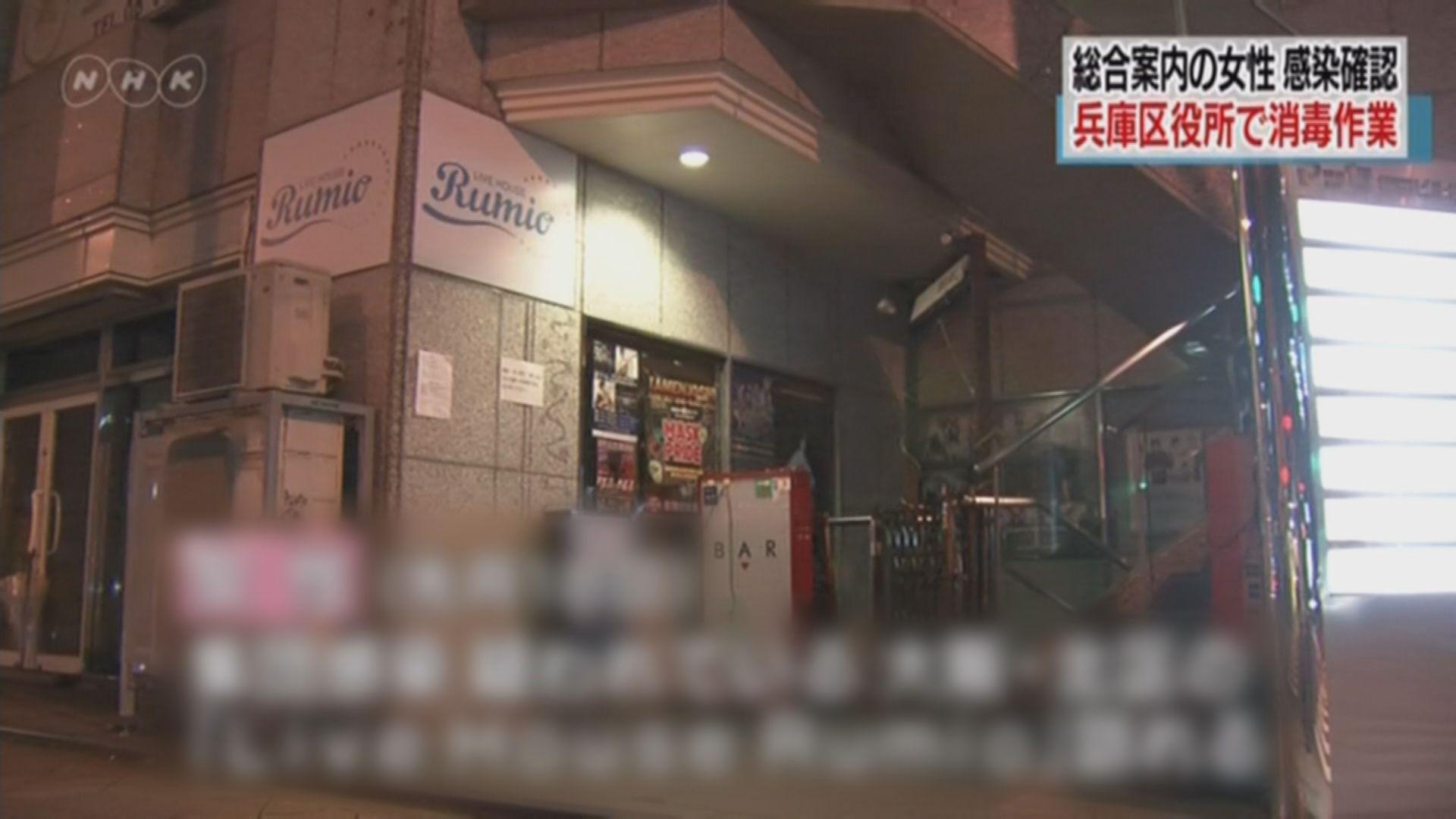 日本新增三宗確診 涉表演場館群聚感染