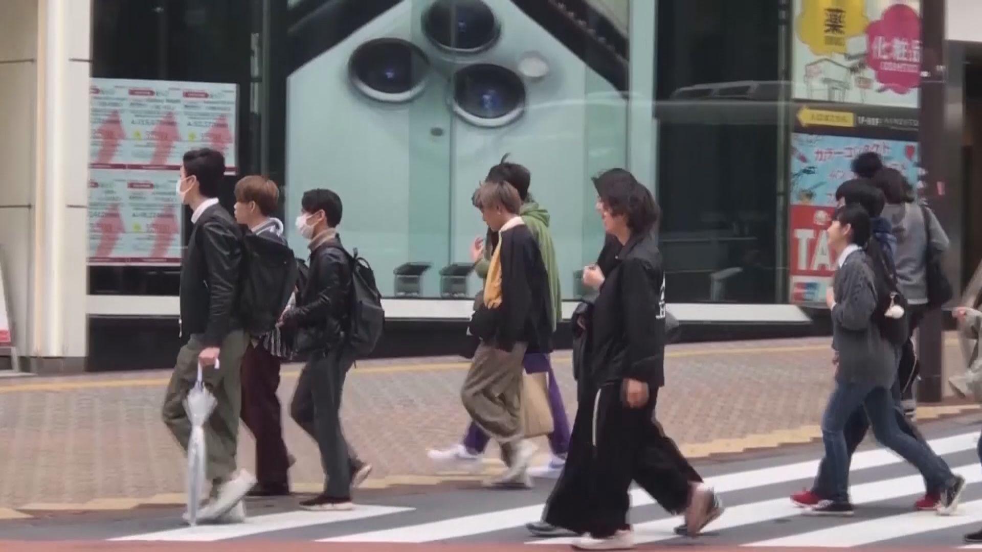 據報日本首都圈地區周六起進入緊急狀態一個月