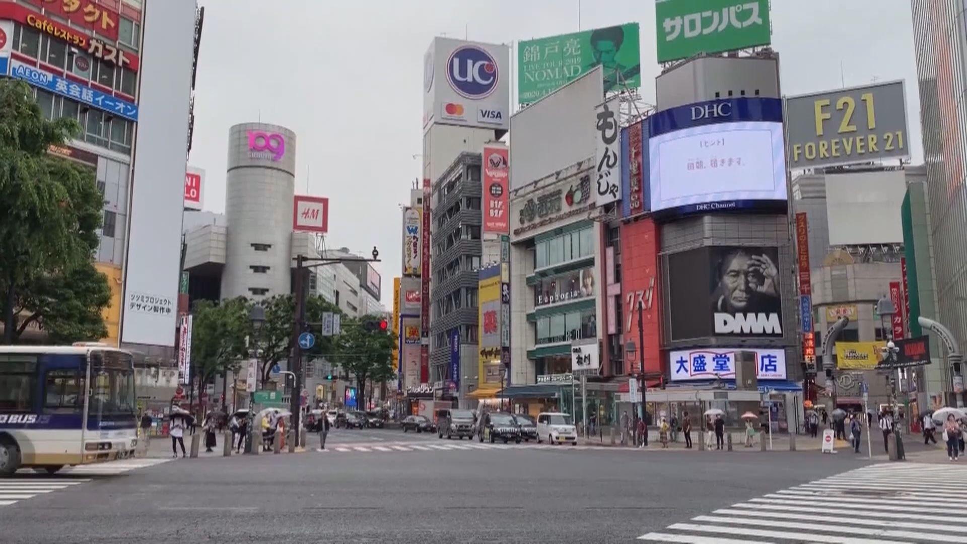 日本東京連續三日新增確診超過300宗