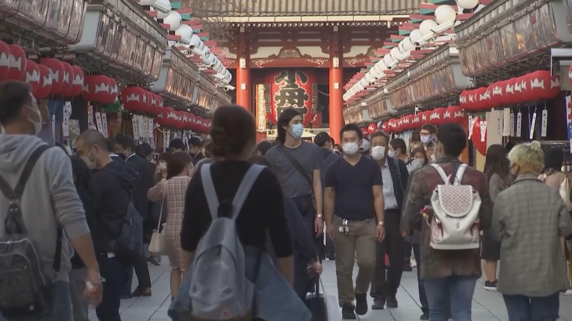日本當局指三周內疫情無緩和 將考慮頒布緊急狀態