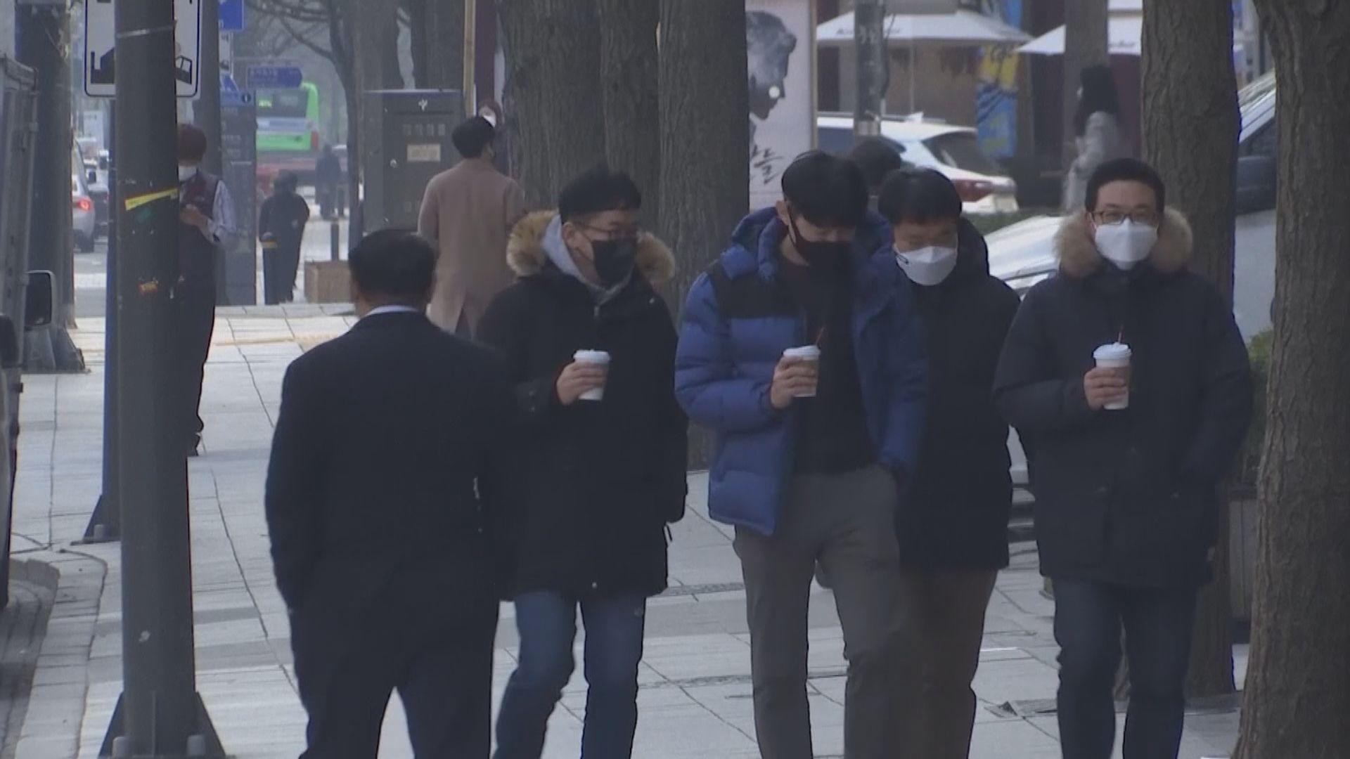 南韓新增718宗確診 大多屬本土感染