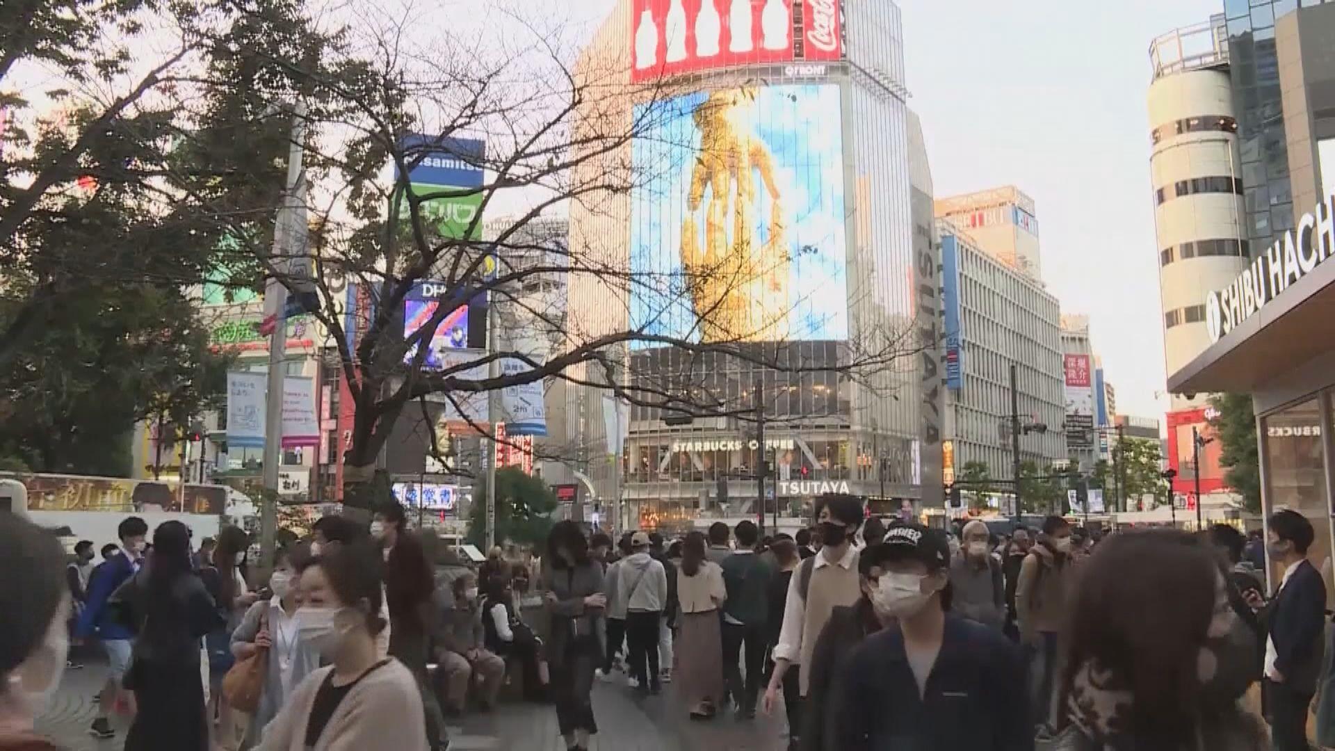 日本有五人感染變種新冠病毒 均來自英國