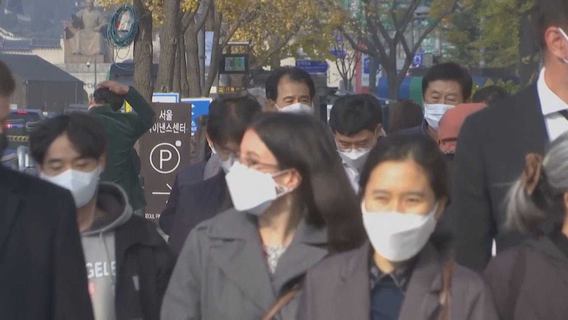 南韓增1029宗確診 首爾看守所群組增至945人確診