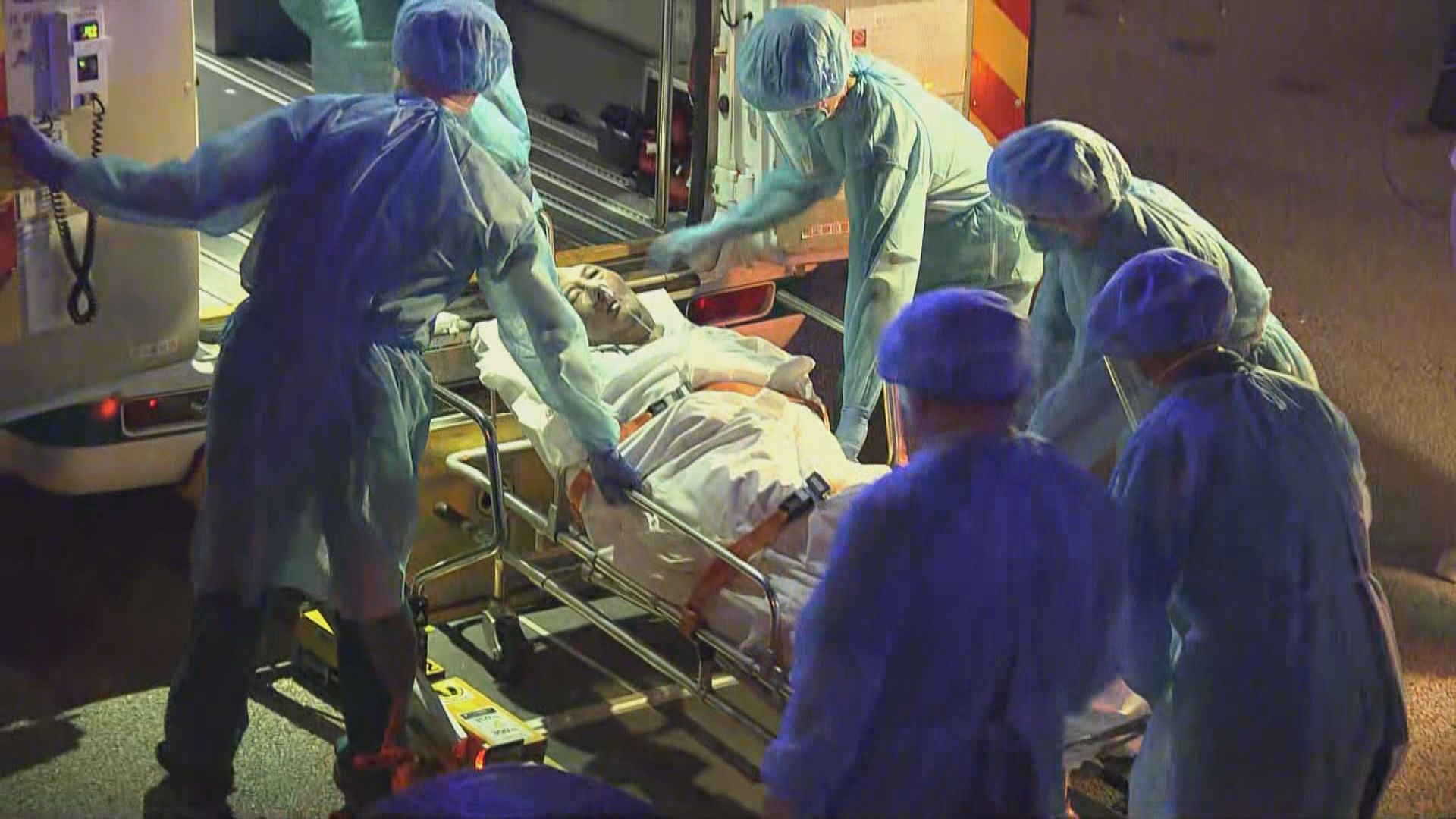 葵涌豐盛護老院連續第二晚進行撤離