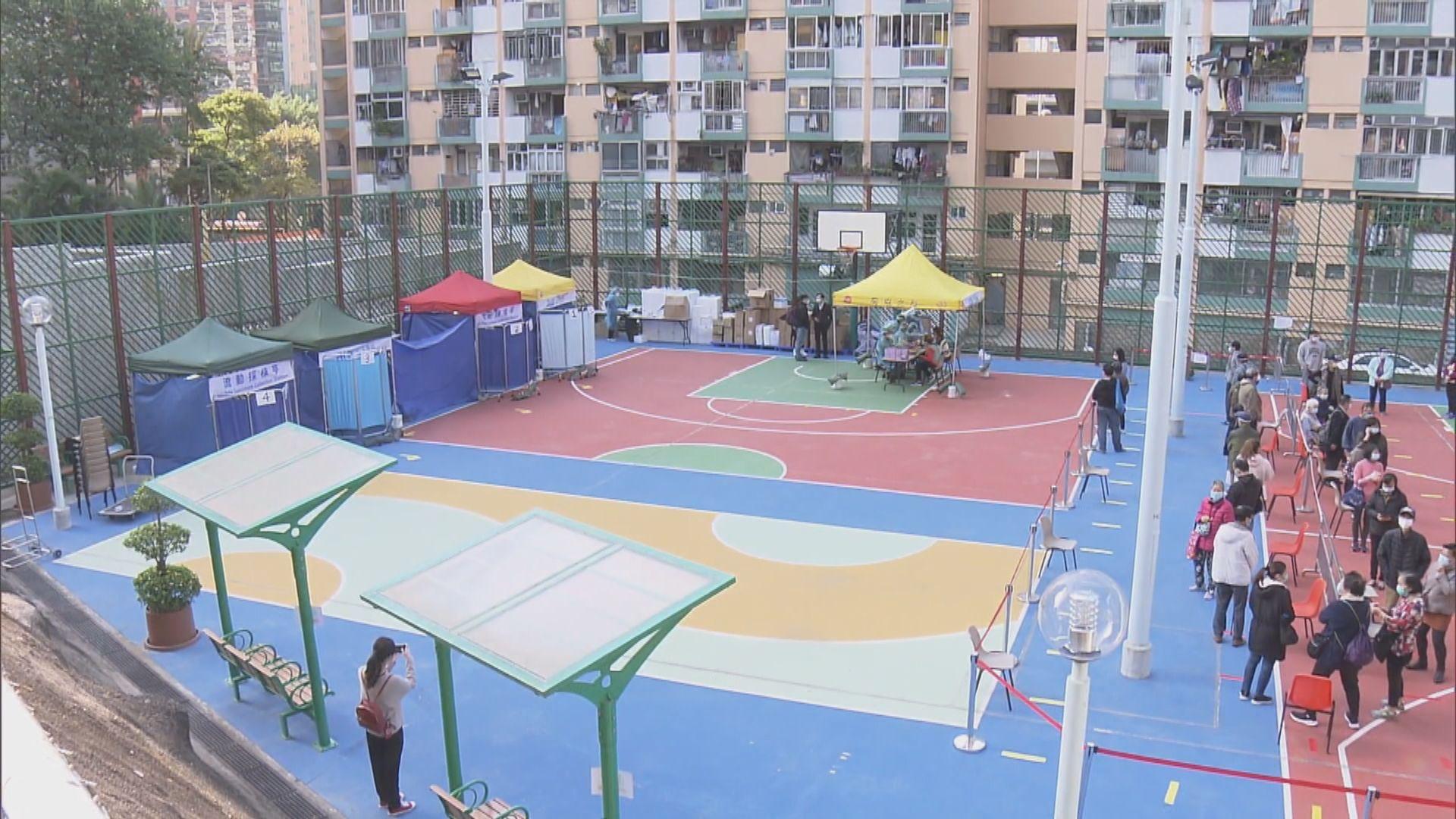 觀塘玉蓮臺二座多個單位居民確診 全座居民強制檢測